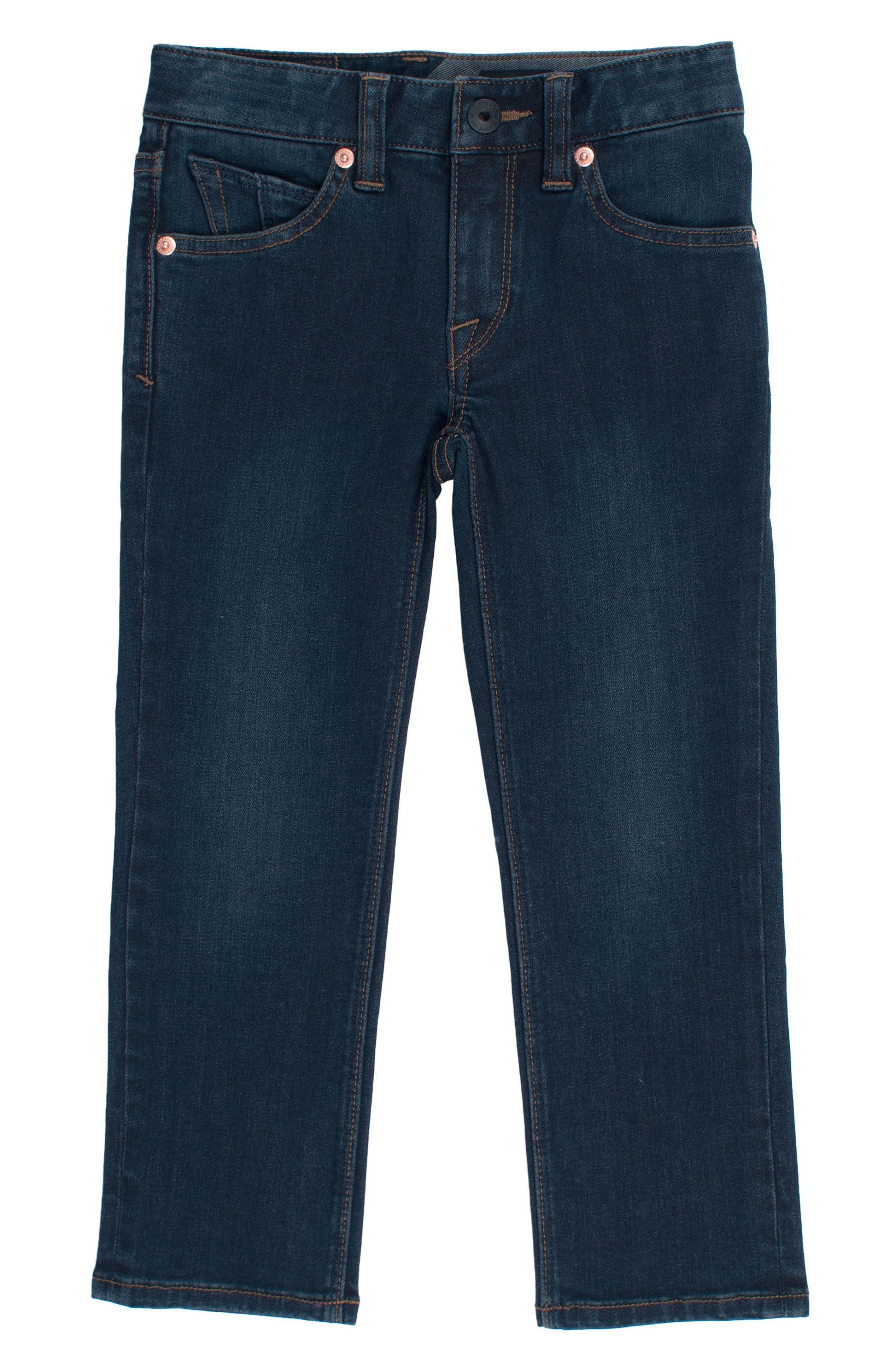 Volcom Vorta Slim Fit Jeans (Toddler Boys & Little Boys)