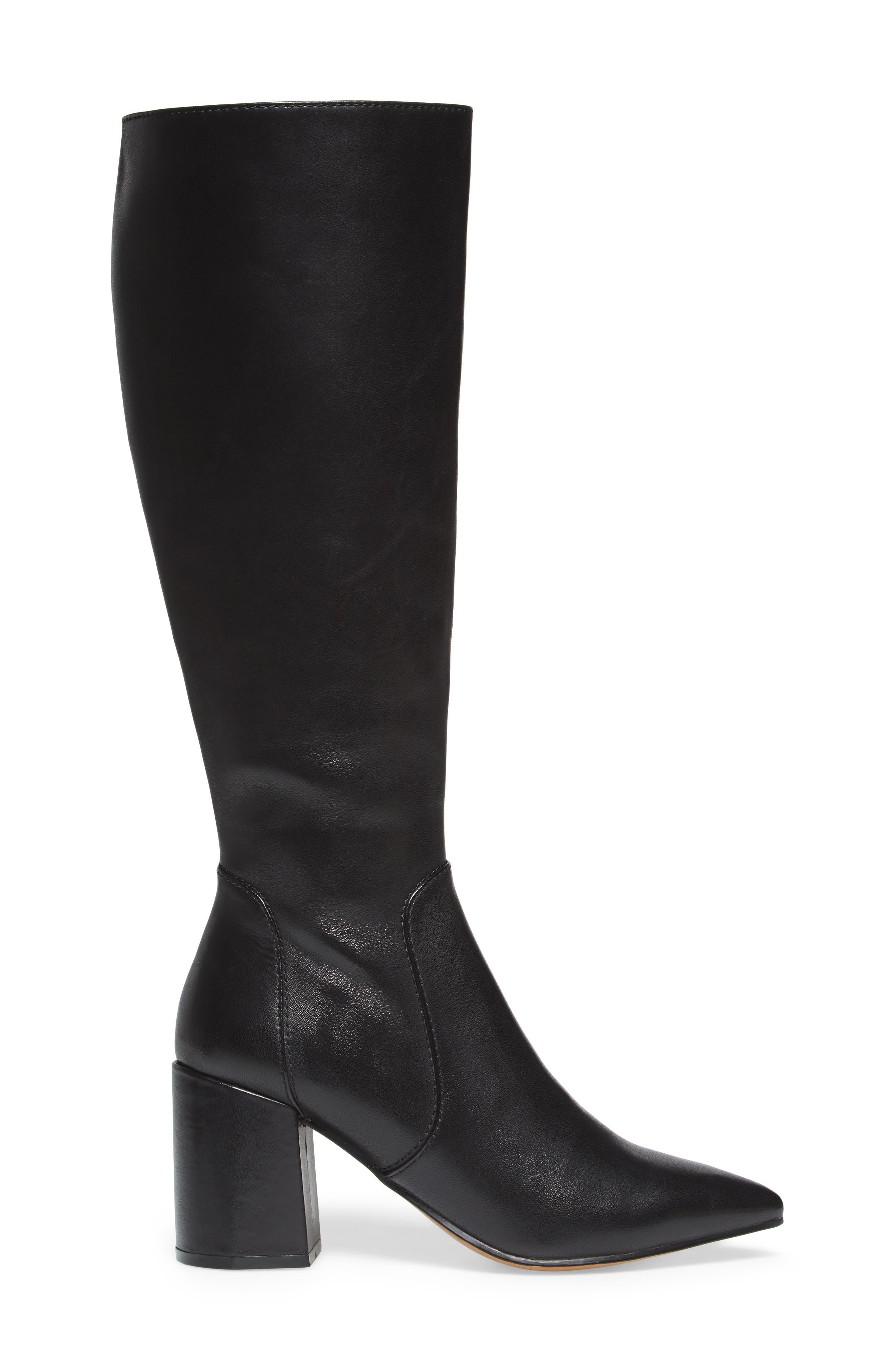 Blink Boot,                             Alternate thumbnail 3, color,                             Black Leather