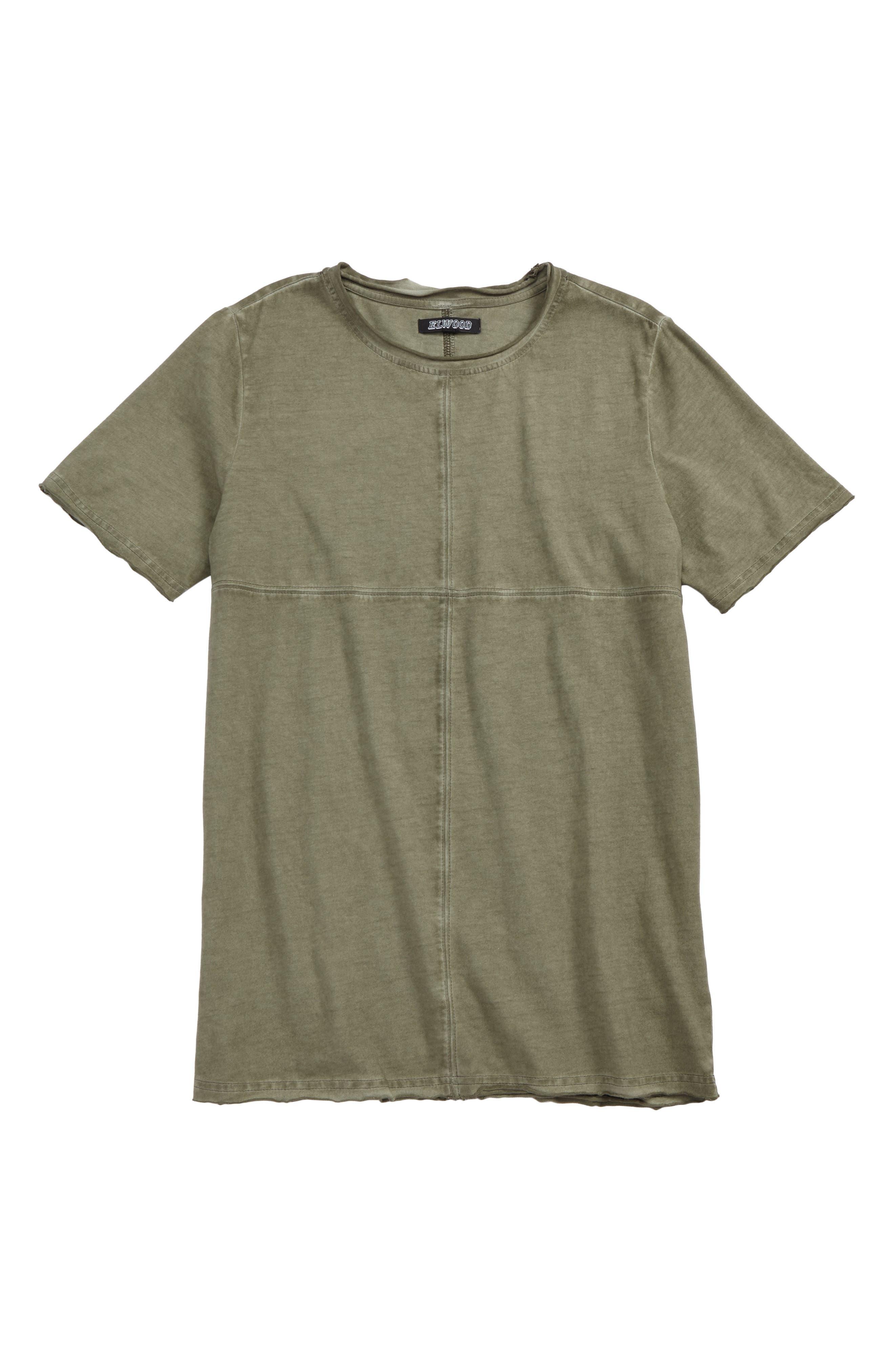 Oversized T-Shirt,                             Main thumbnail 1, color,                             Vintage Sage