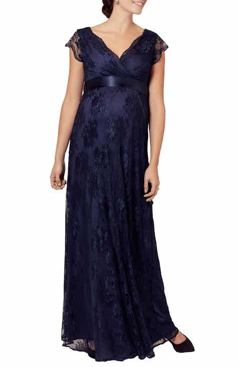 a5c4620c32b4a Tiffany Rose Eden Lace Maternity Gown