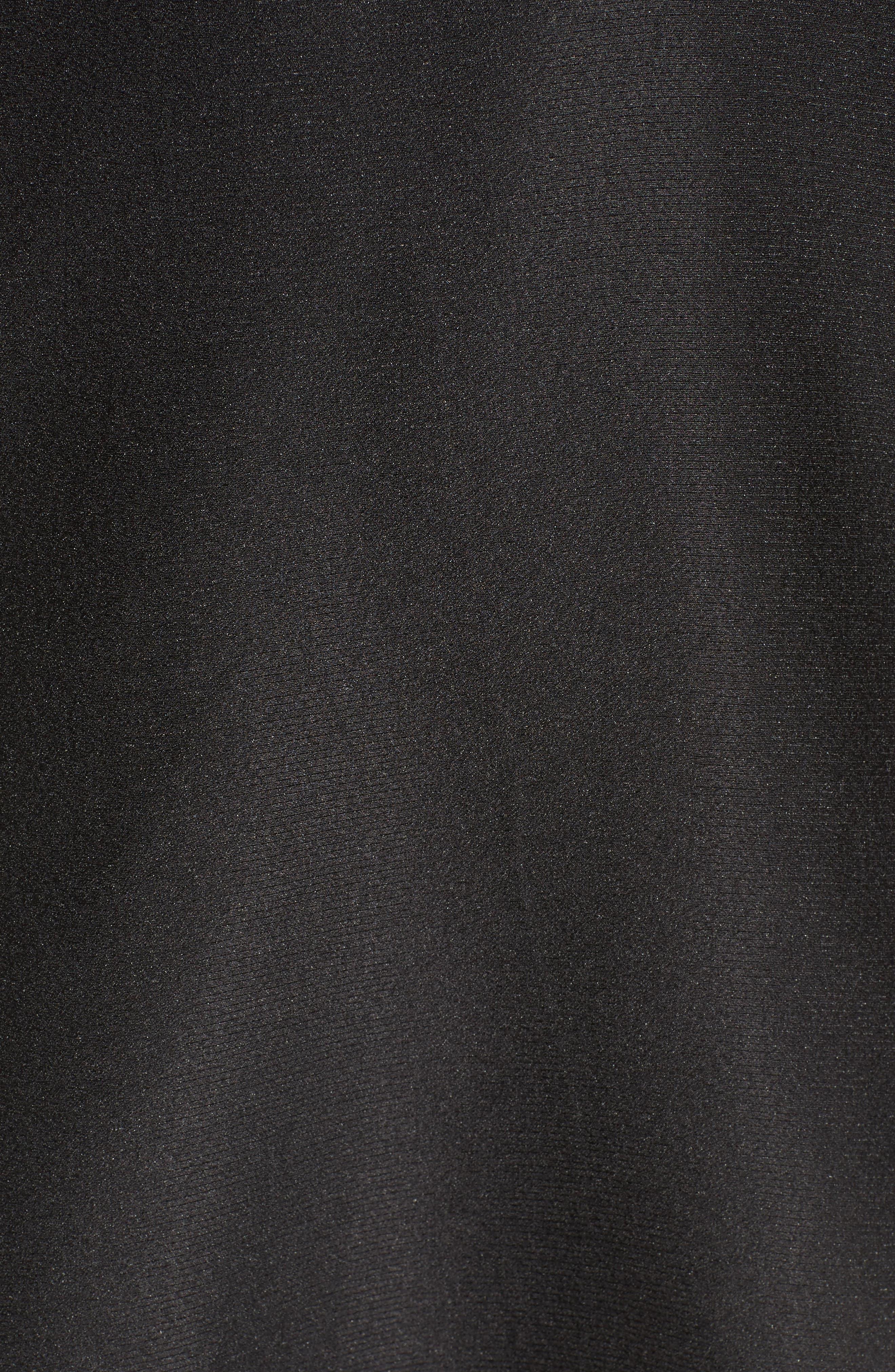 Call Me Strapless Dress,                             Alternate thumbnail 6, color,                             Black