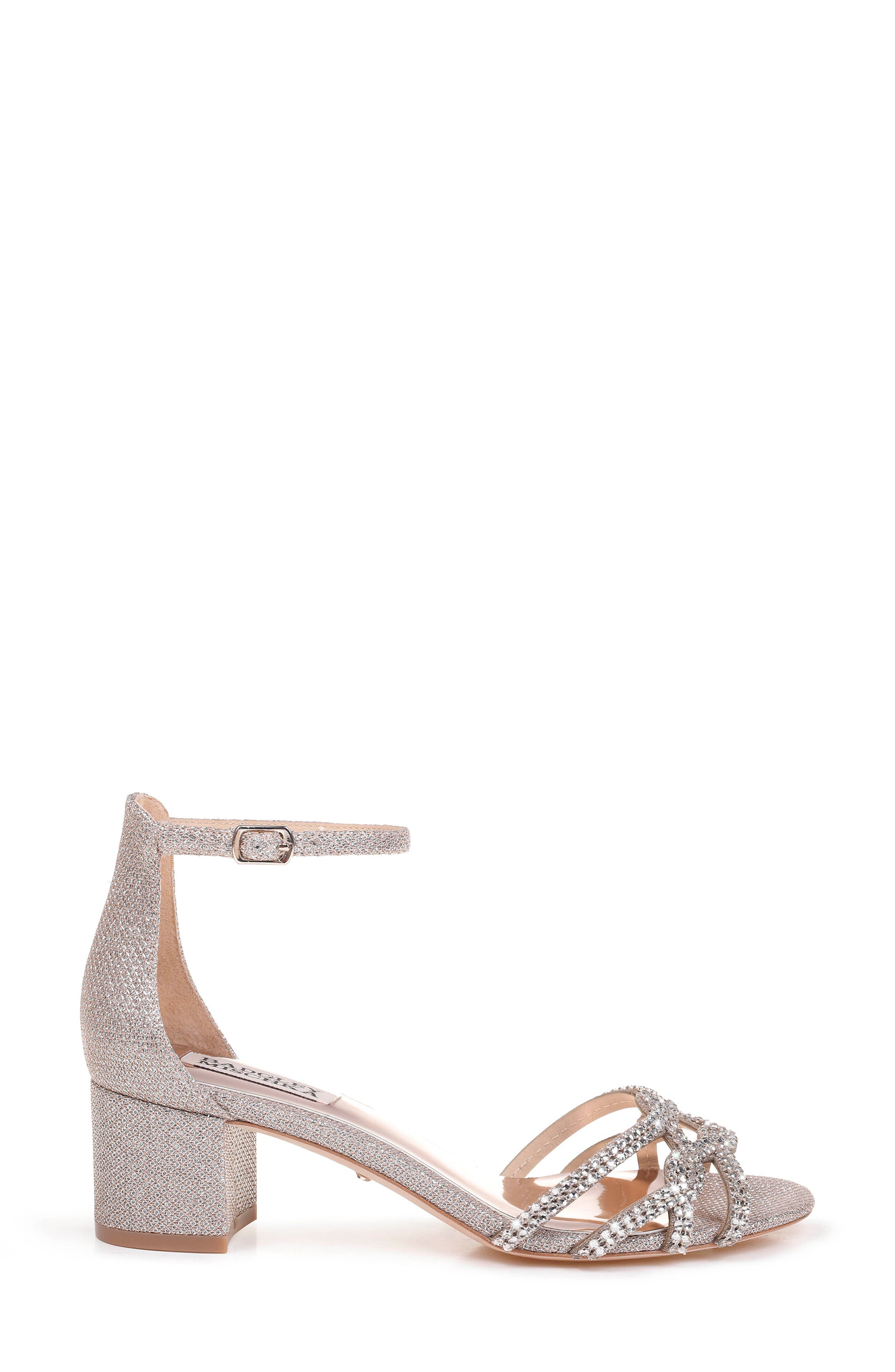 Alternate Image 3  - Badgley Mischka Sonya Block Heel Sandal (Women)