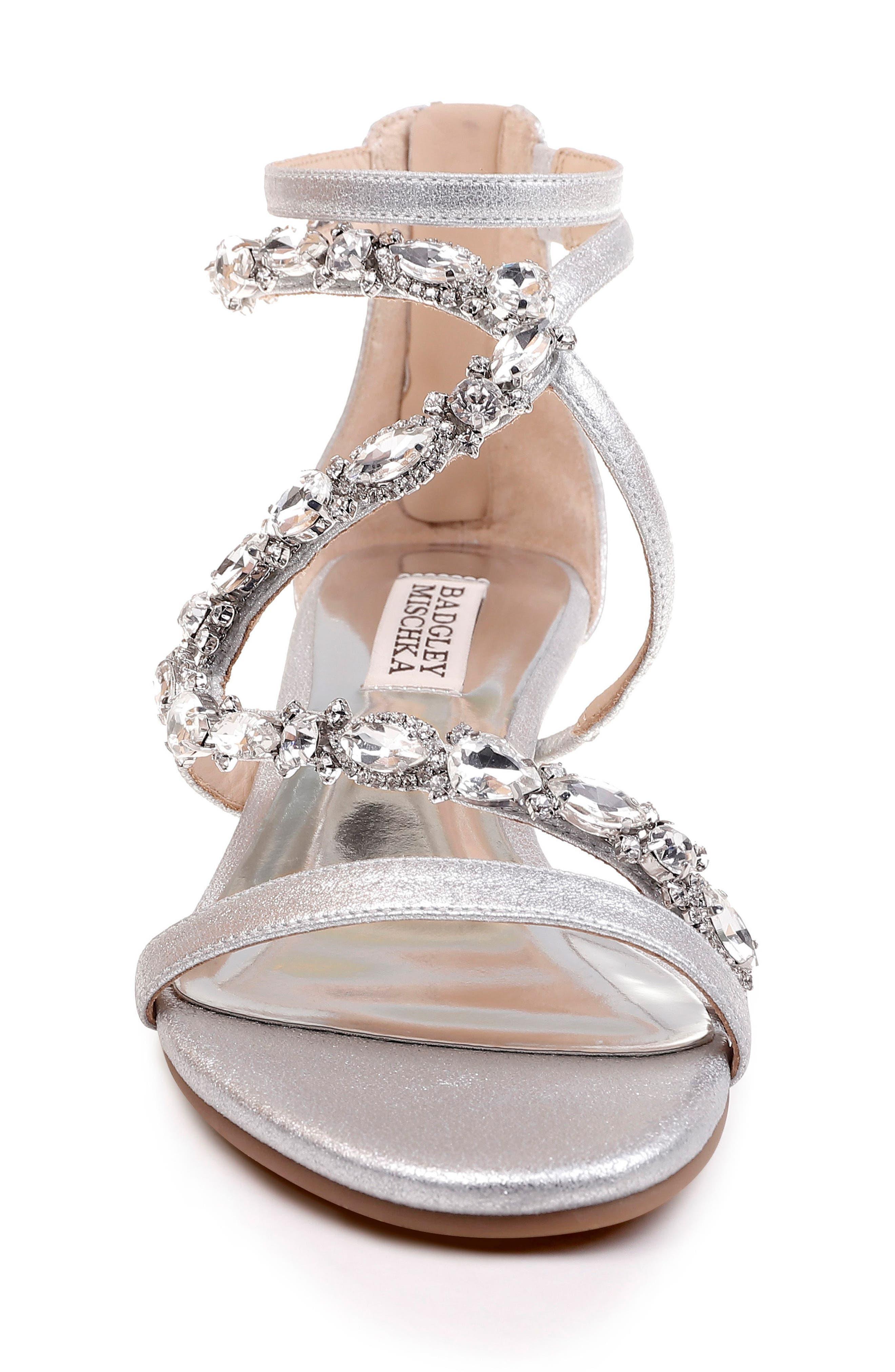 Alternate Image 4  - Badgley Mischka Sierra Strappy Wedge Sandal (Women)