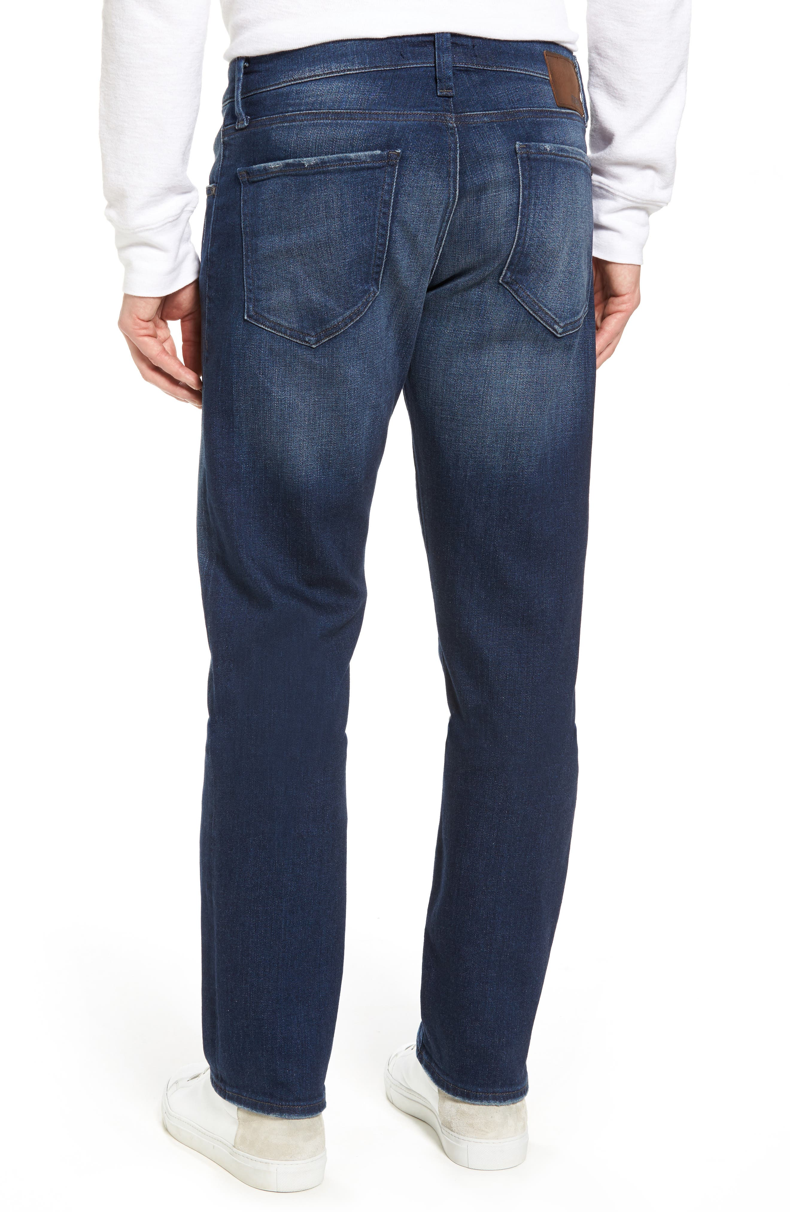 Zach Straight Leg Jeans,                             Alternate thumbnail 2, color,                             Dark Brooklyn
