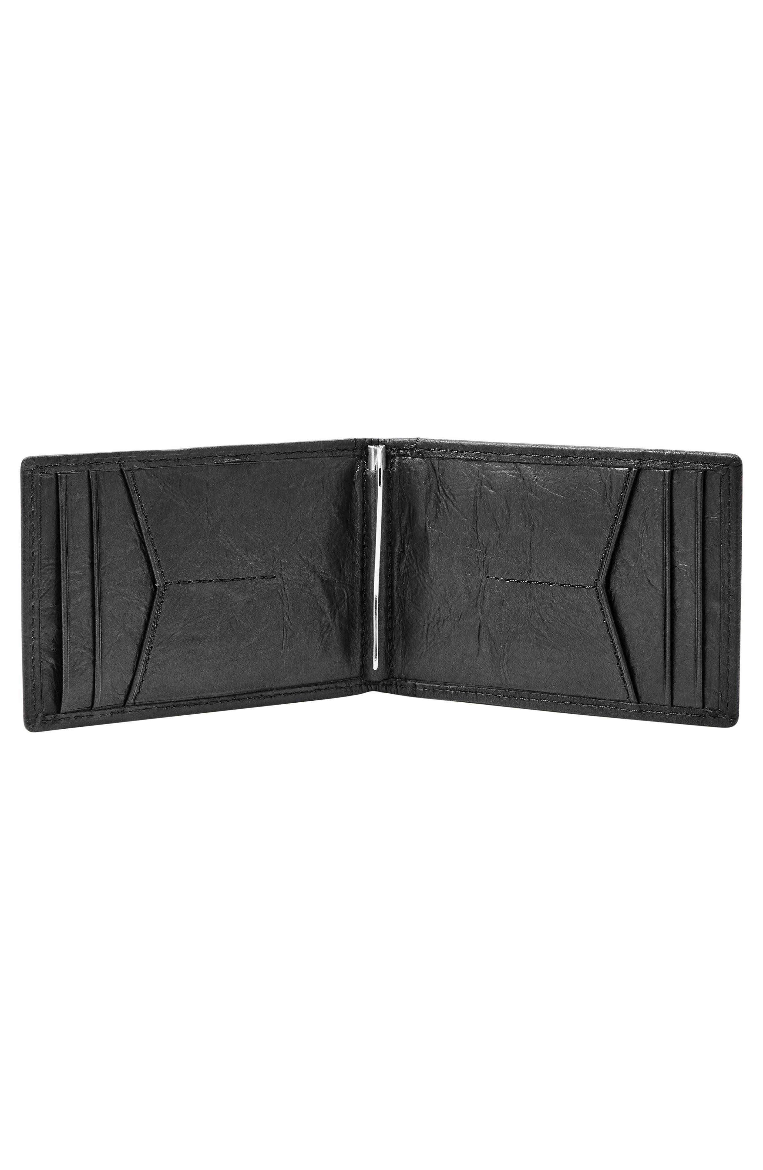 Alternate Image 2  - Fossil Neel Leather Money Clip Wallet