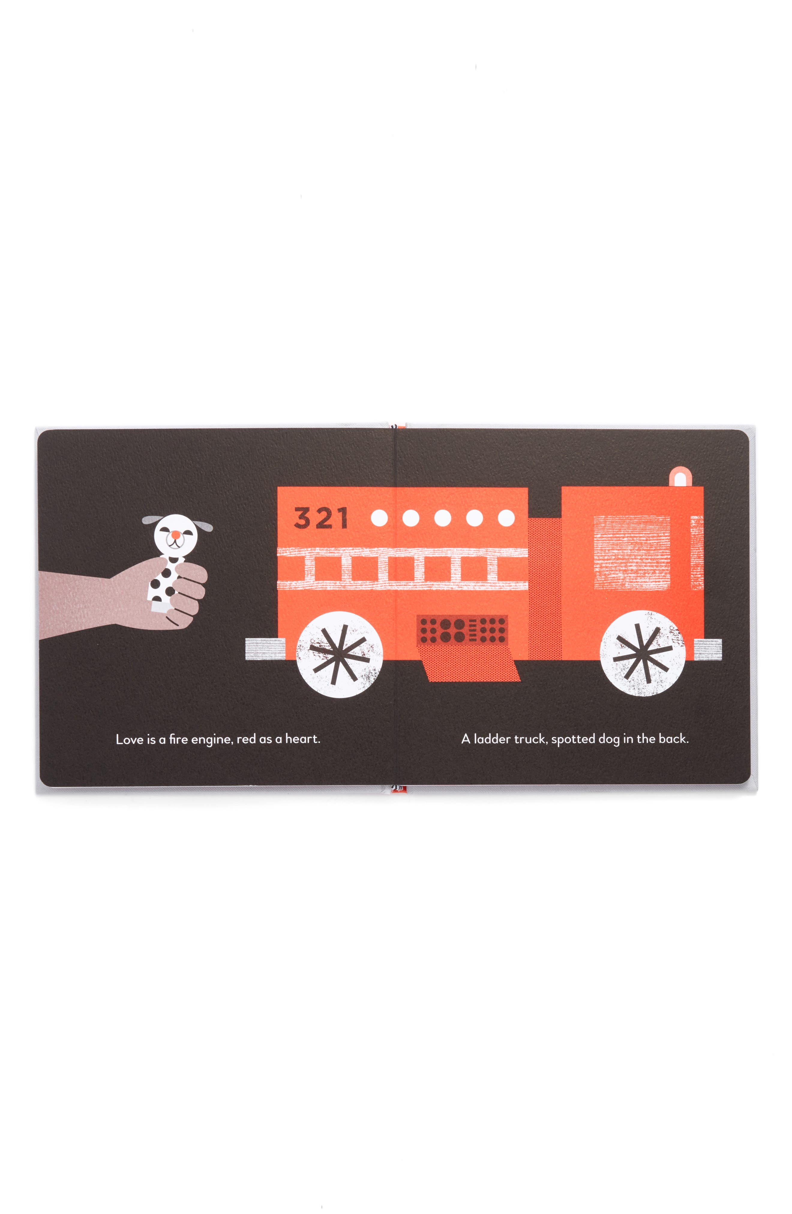 'Love is a Truck' Board Book,                             Alternate thumbnail 2, color,                             Grey