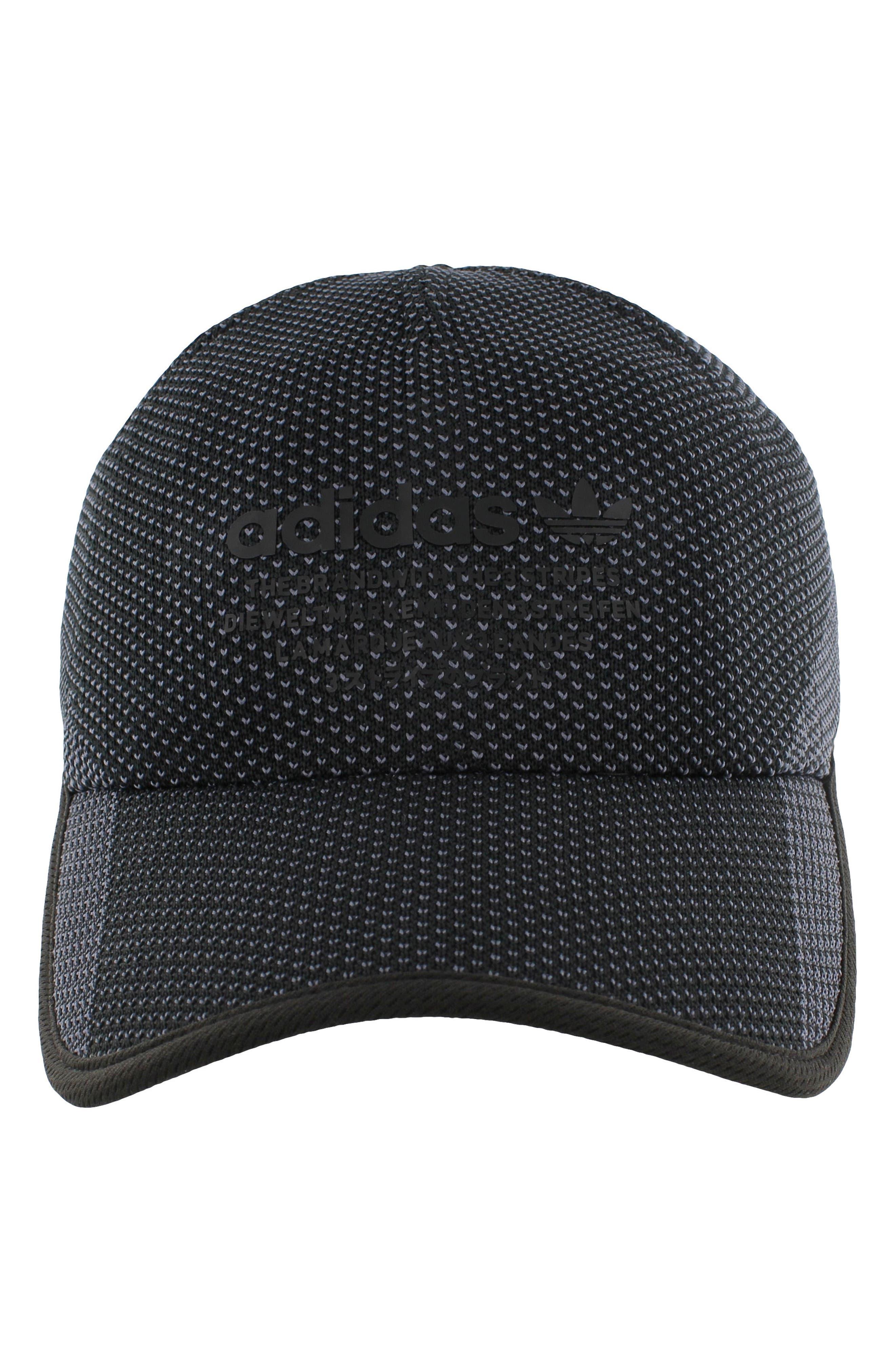 NMD Prime Ball Cap,                             Alternate thumbnail 4, color,                             Black