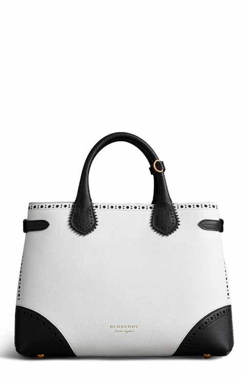 Burberry Handbags White