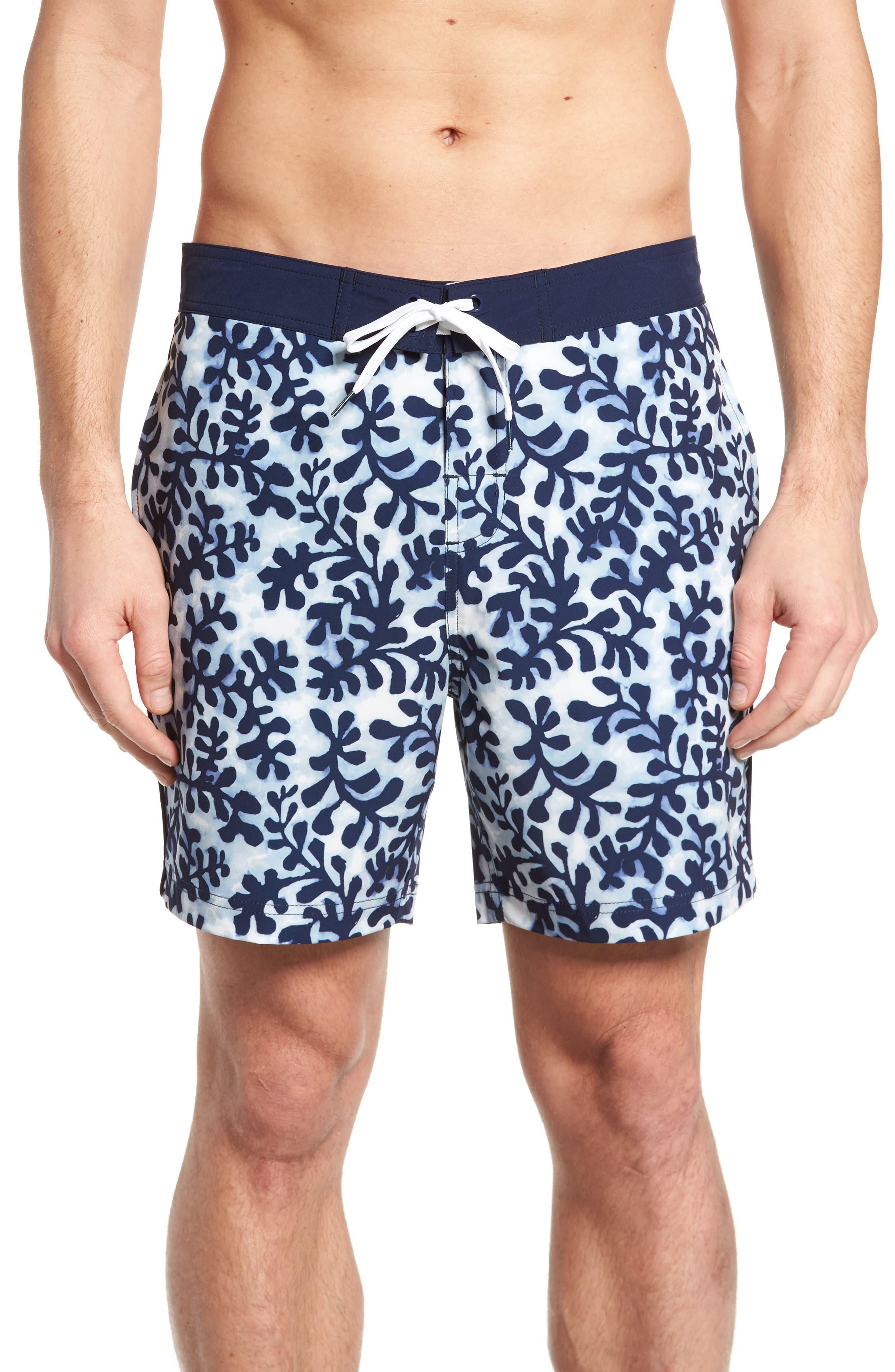 Michael Bastian Seaweed Board Shorts
