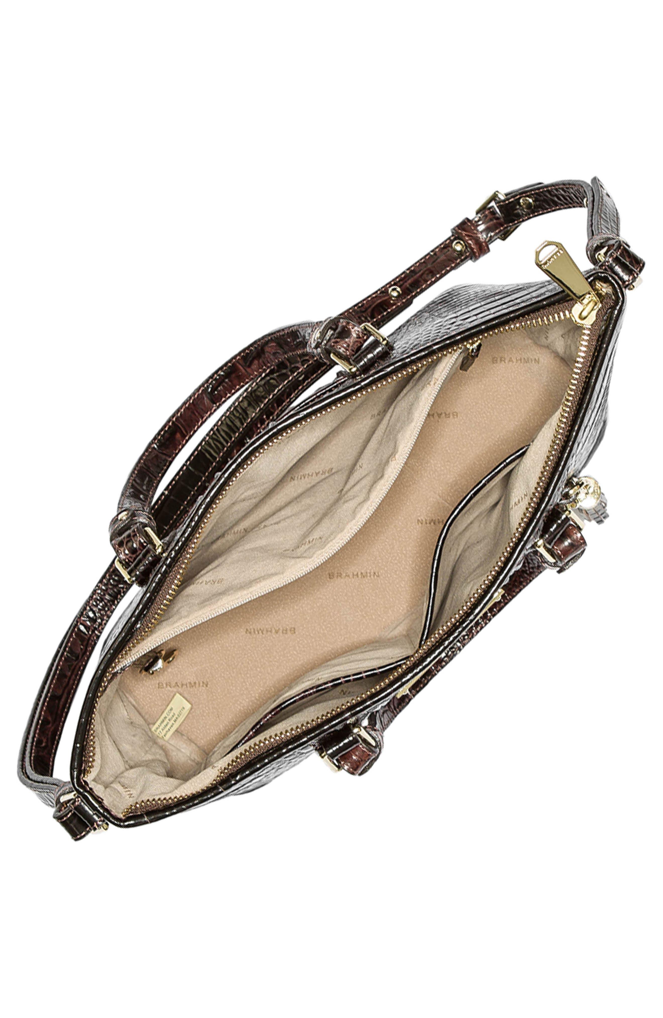 Alternate Image 3  - Brahmin Melbourne Mini Asher Leather Tote