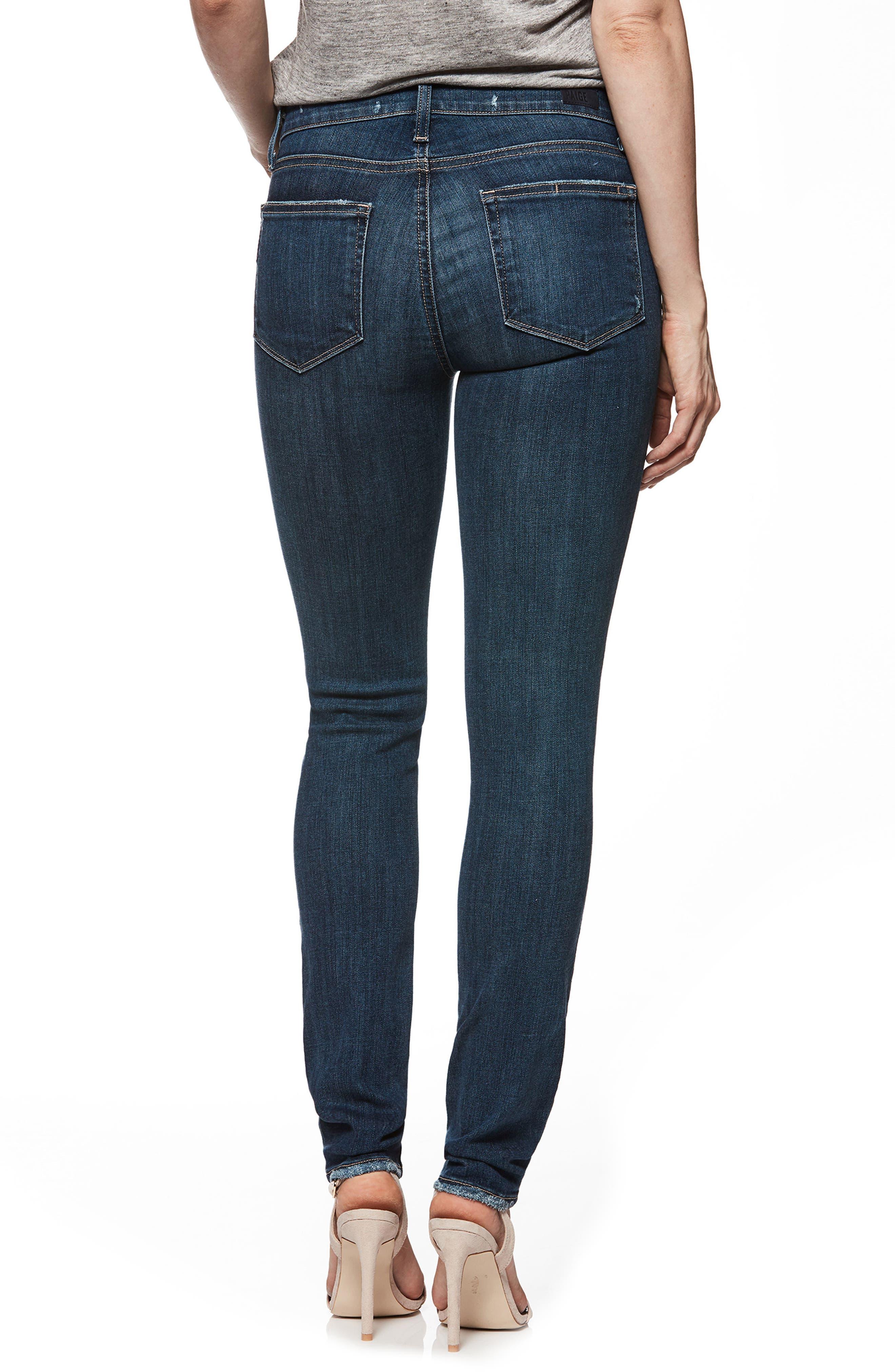 Transcend Vintage - Verdugo Ultra Skinny Jeans,                             Alternate thumbnail 3, color,                             Emilio