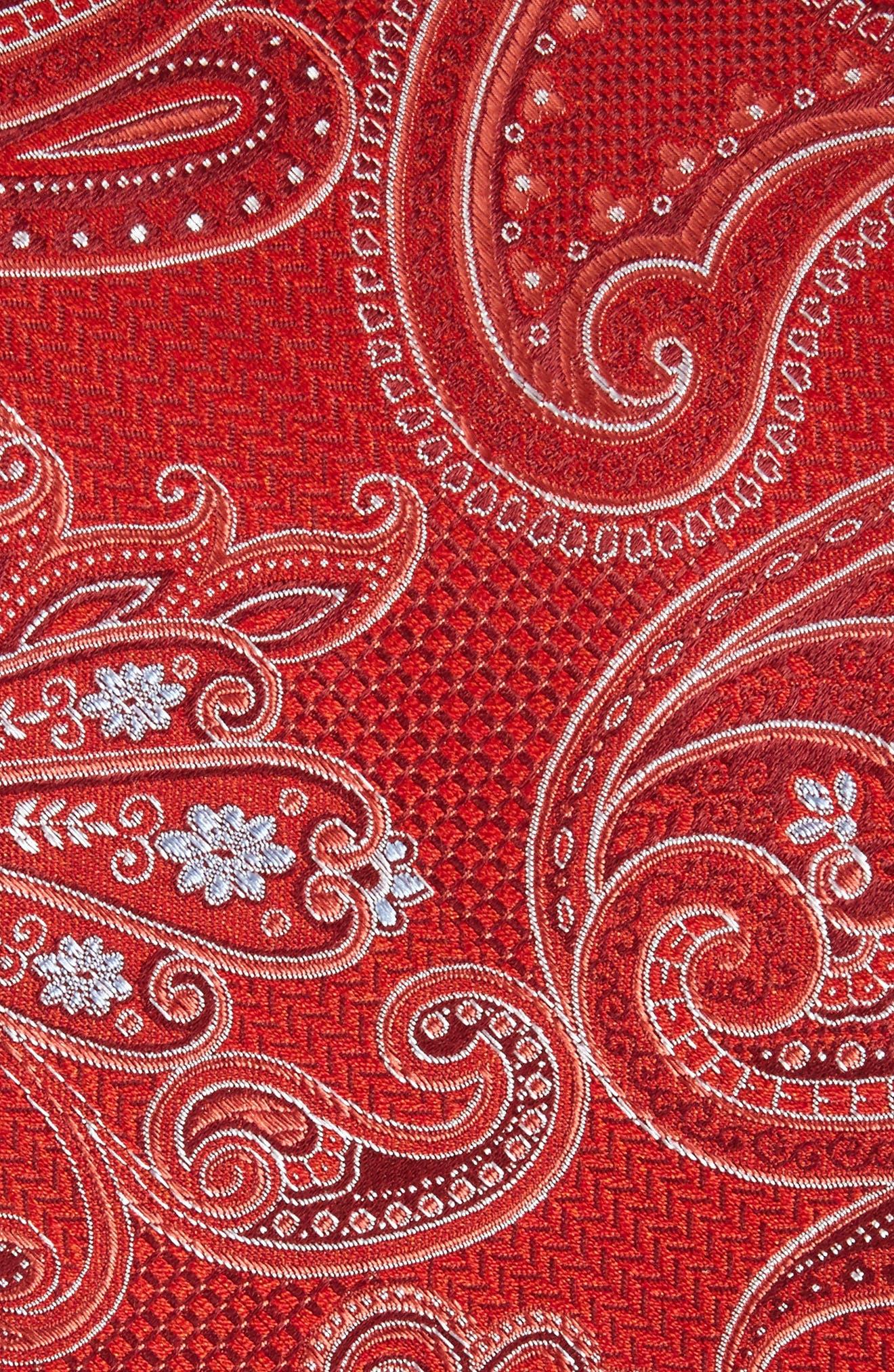 Alternate Image 2  - Nordstrom Men's Shop Bushnell Paisley Silk Blend Tie