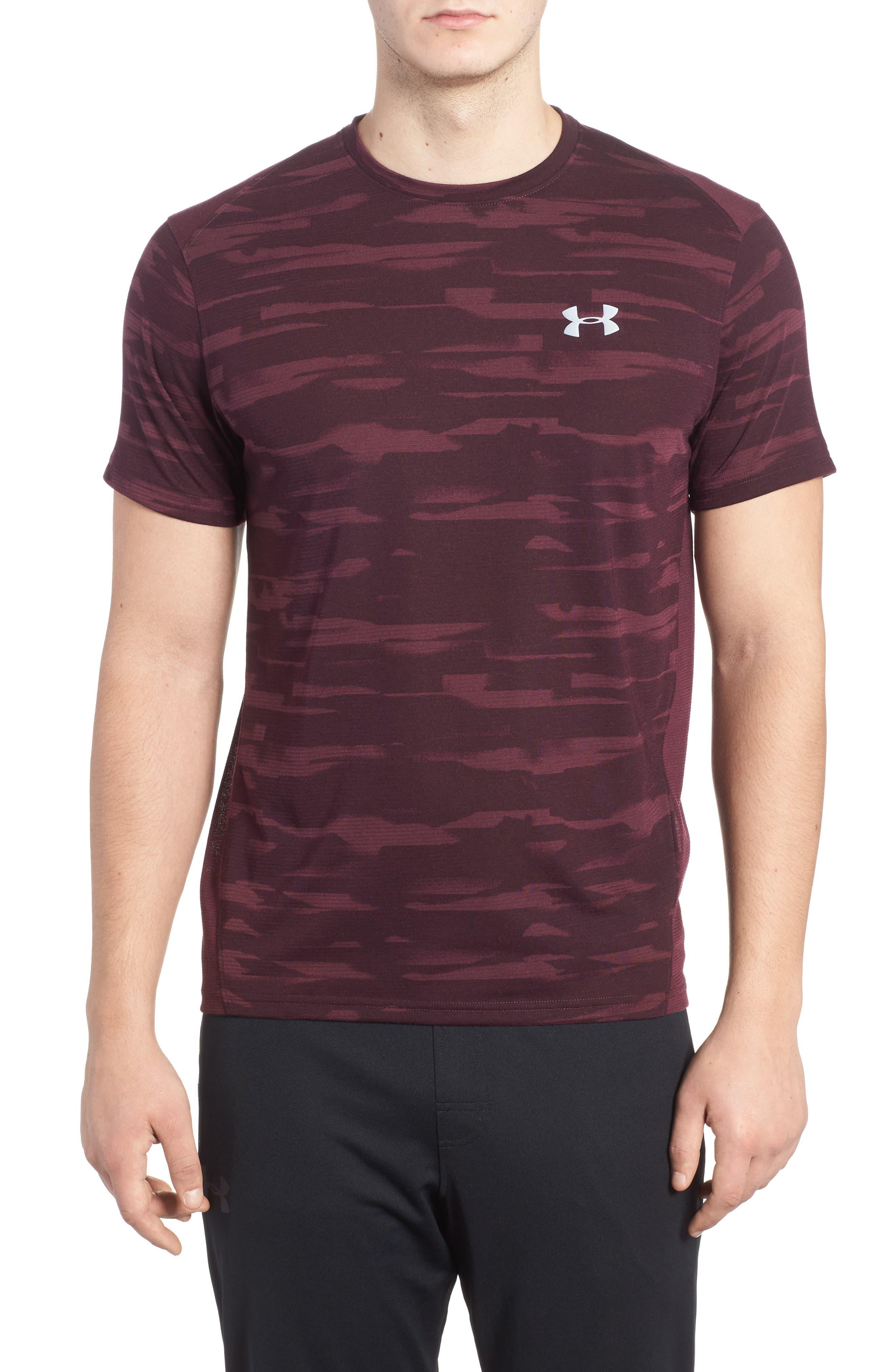 Main Image - Under Armour Threadborne Mesh Running T-Shirt