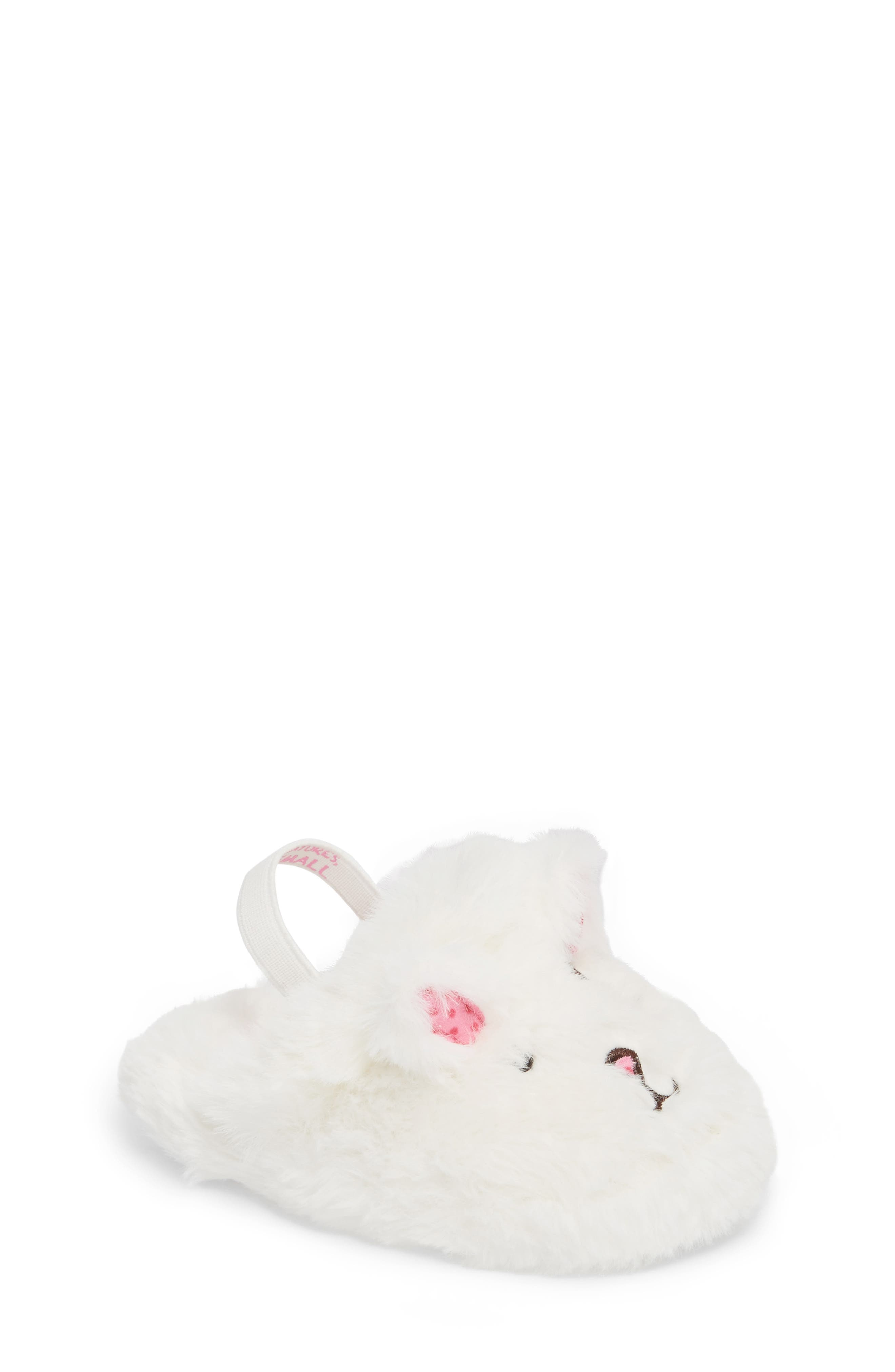 WellieWishers from American Girl Willa Heel Strap Bunny Slipper (Walker & Toddler)