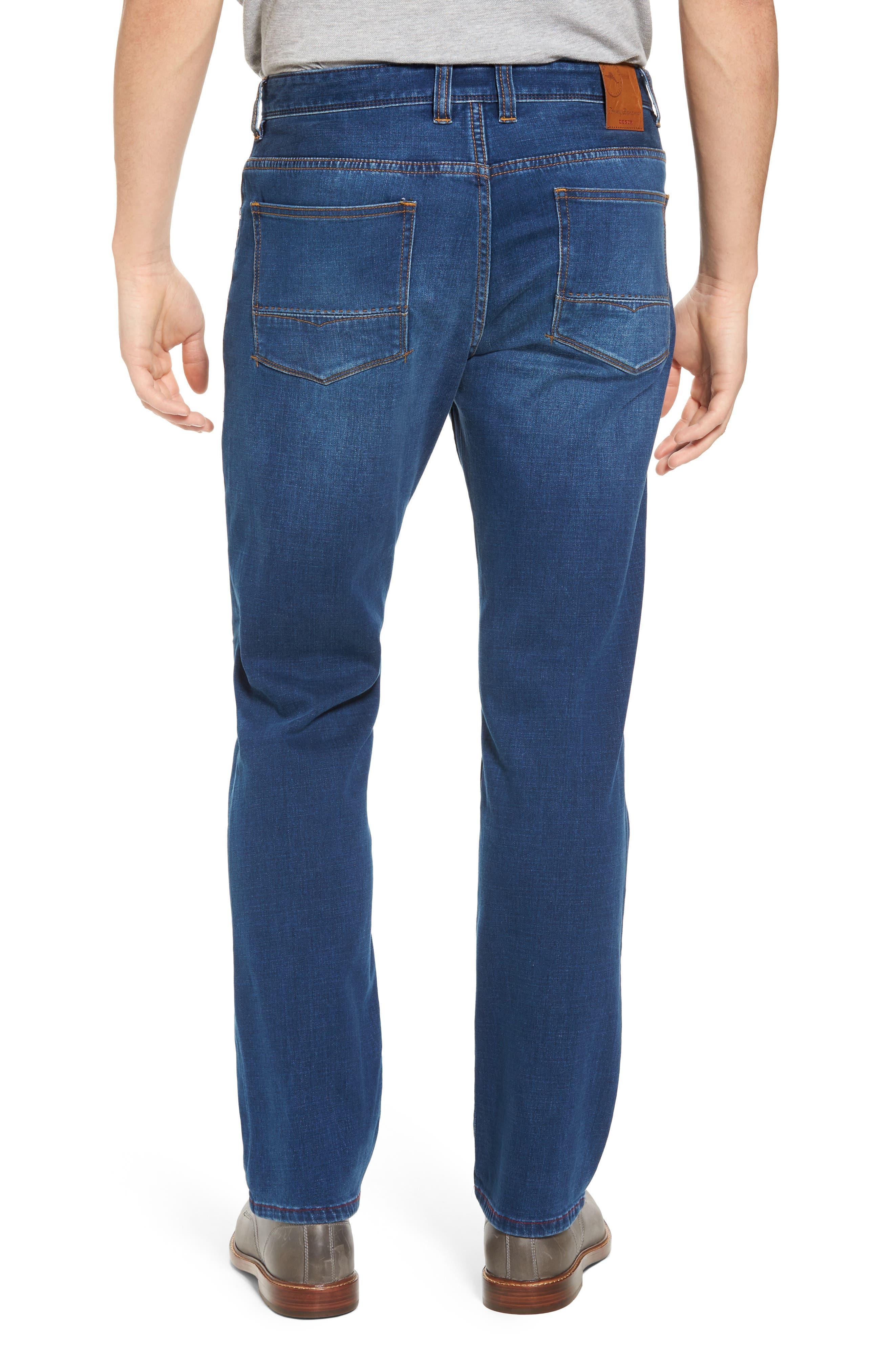 Caicos Authentic Fit Jeans,                             Alternate thumbnail 2, color,                             Medium Indigo