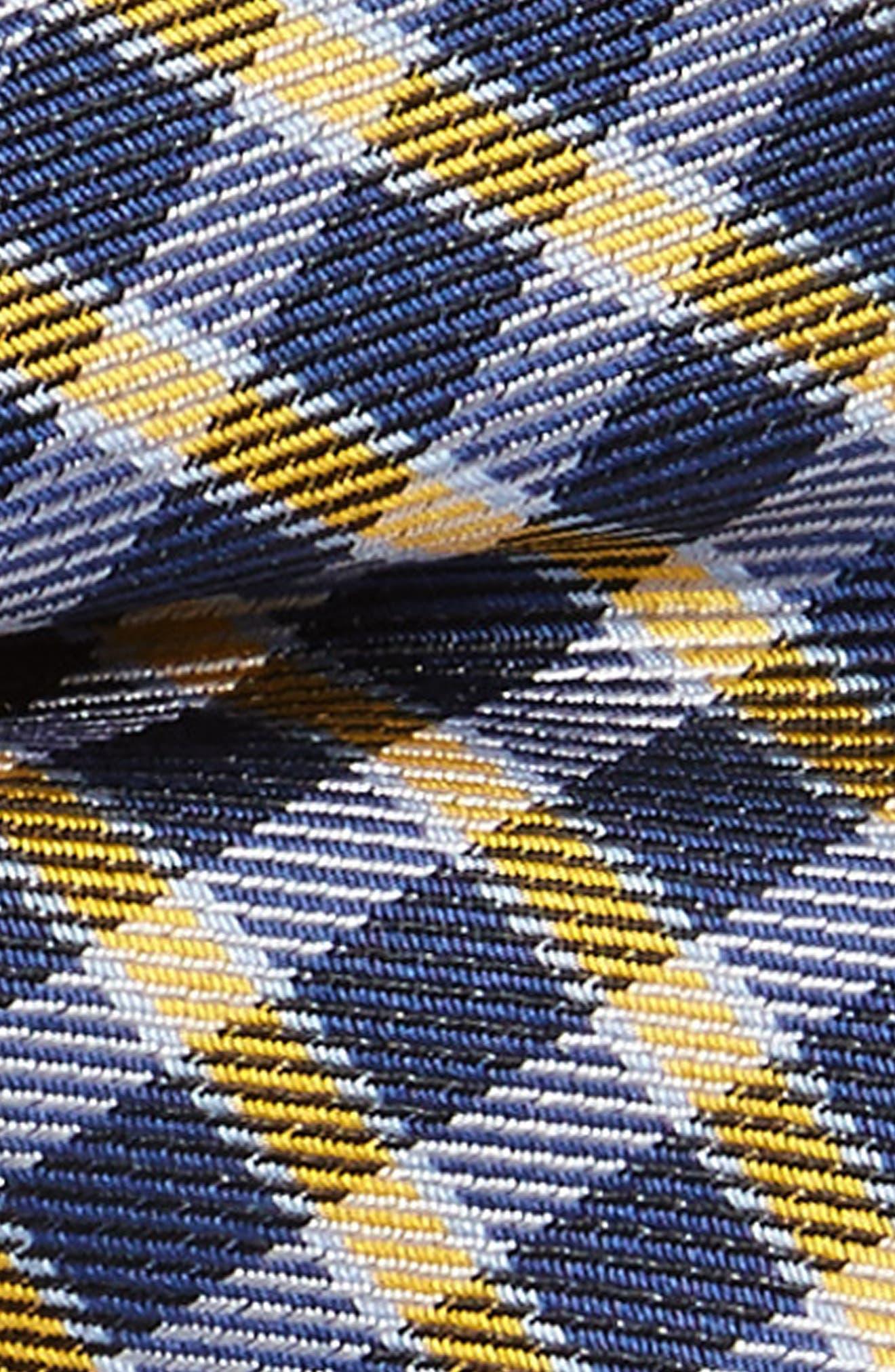 Plaid Wool & Silk Bow Tie,                             Alternate thumbnail 2, color,                             Orange