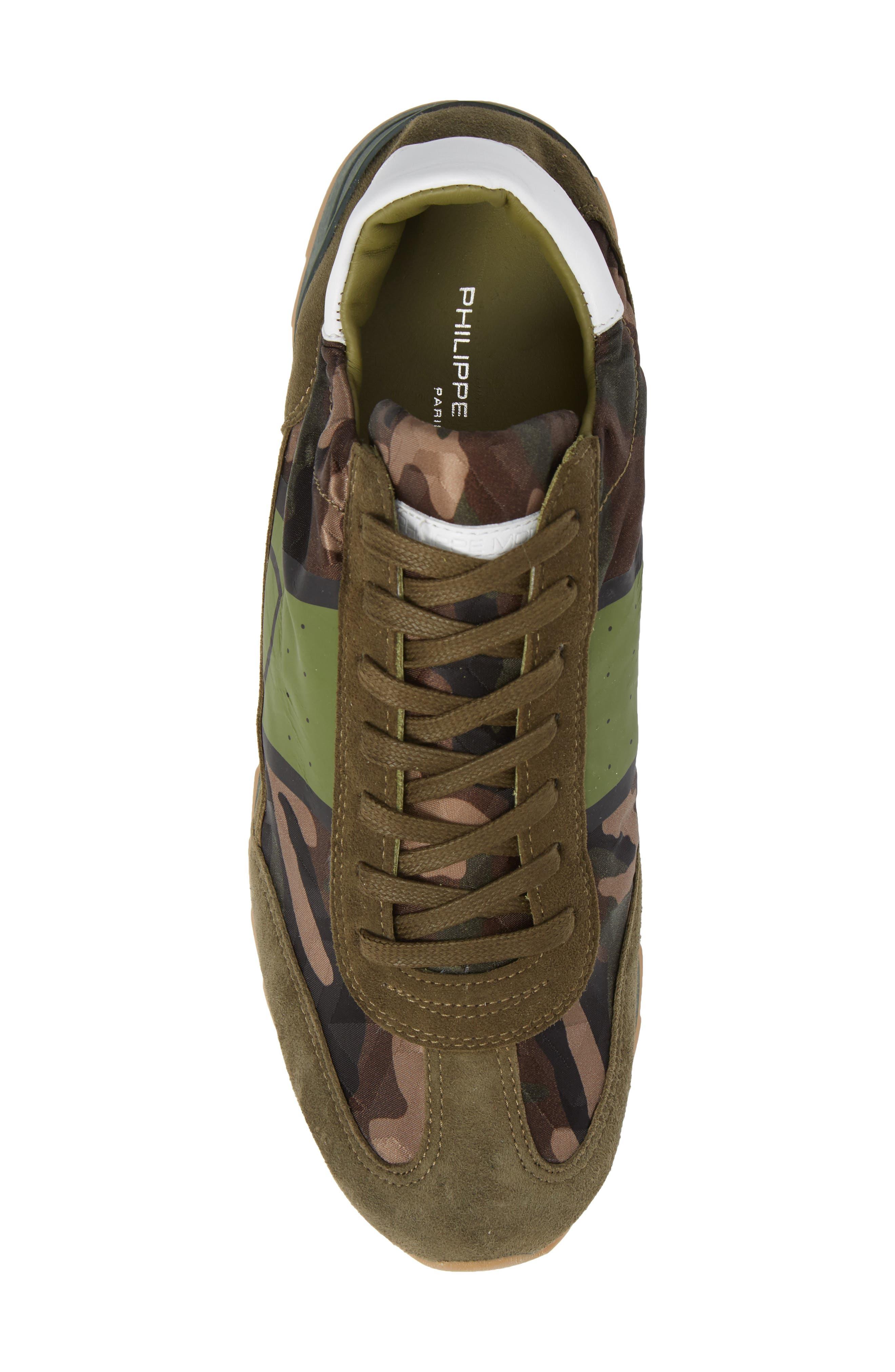 Toujours Sneaker,                             Alternate thumbnail 5, color,                             Green/ Green