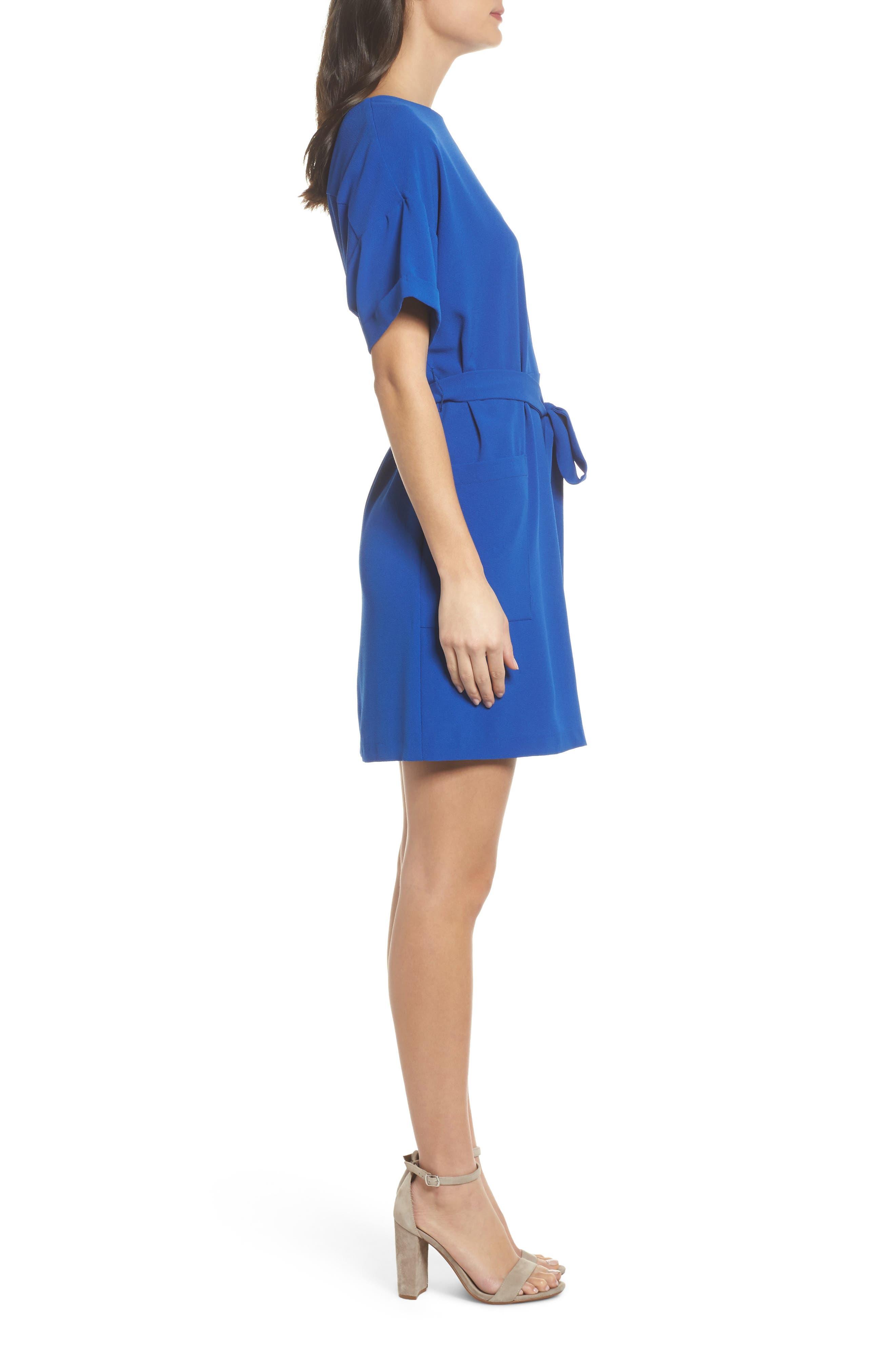 Alternate Image 3  - Felicity & Coco Halia Tie Waist Dress (Regular & Petite)