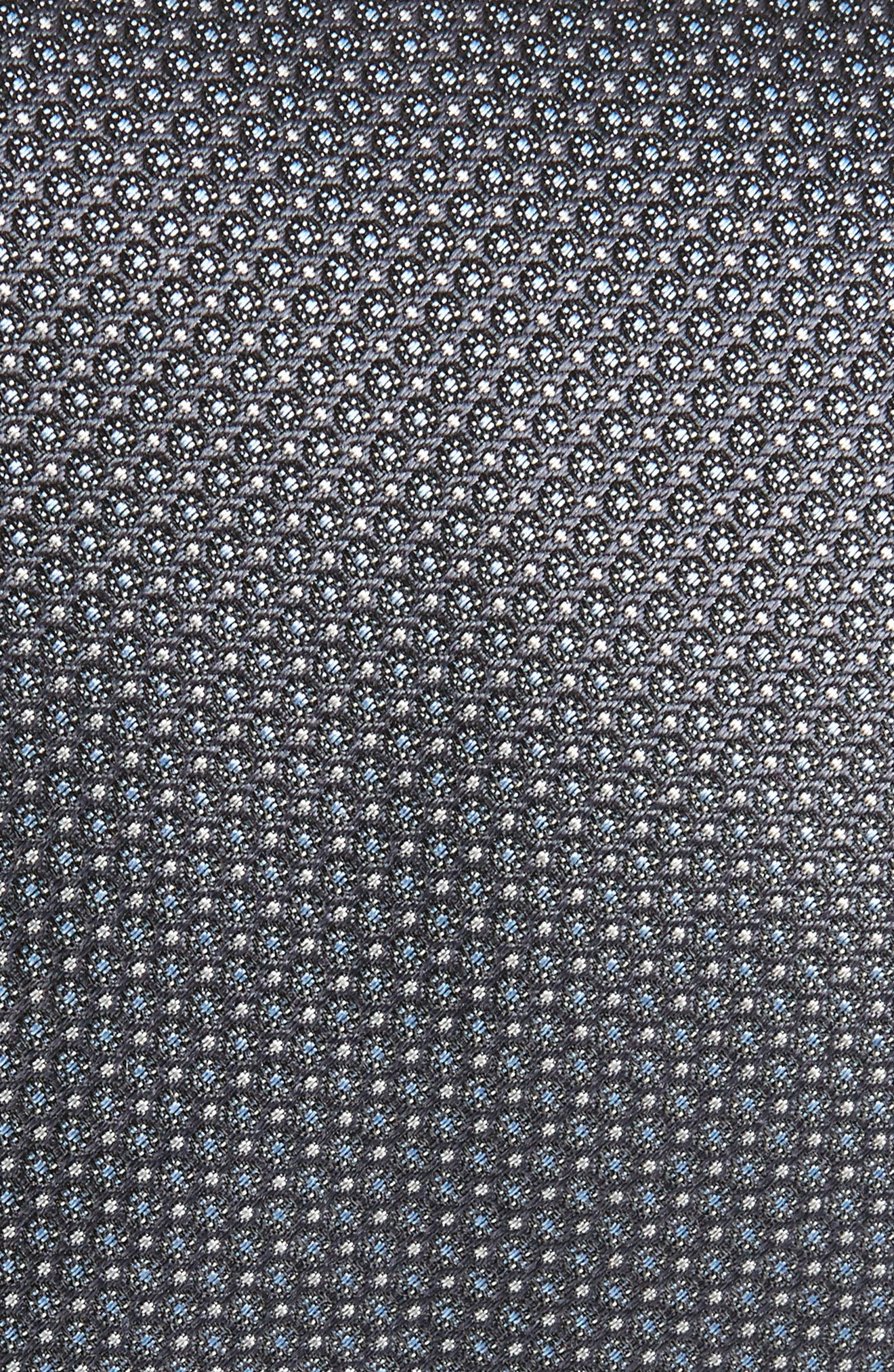 Clinton Silk Tie,                             Alternate thumbnail 2, color,                             Charcoal