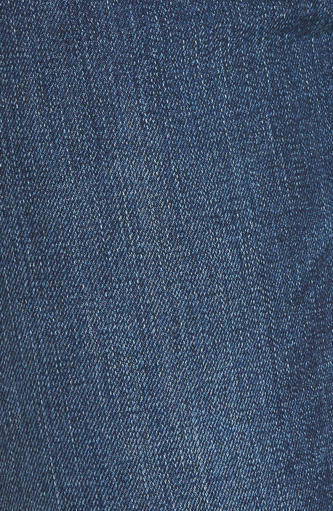 Barbara High Waist Super Skinny Jeans,                             Alternate thumbnail 6, color,                             Fatal