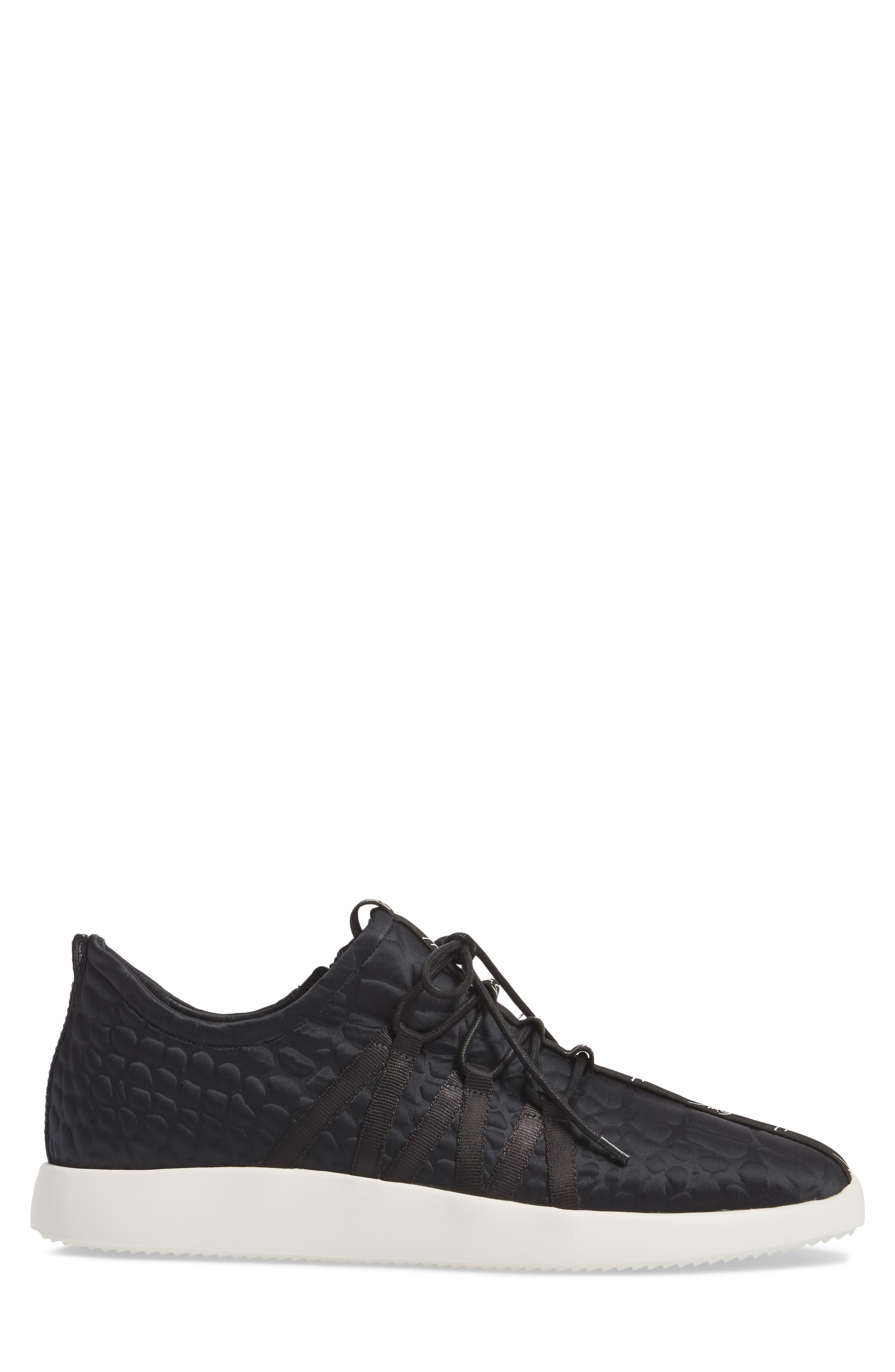 Sneaker,                             Alternate thumbnail 3, color,                             Black