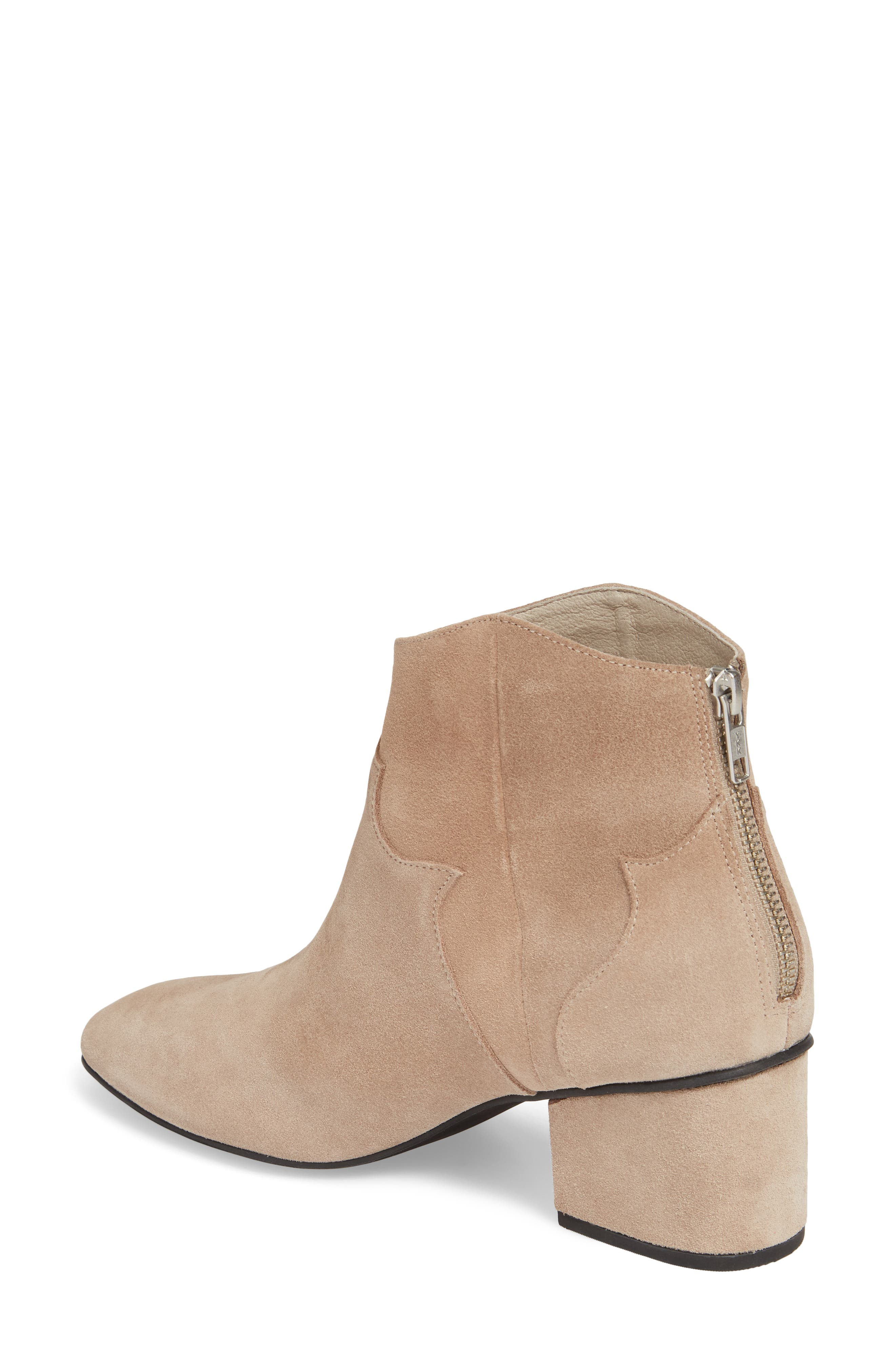 Texan Arched Bootie,                             Alternate thumbnail 2, color,                             Desert Suede