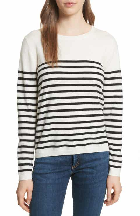 kate spade new york heart patch sweater