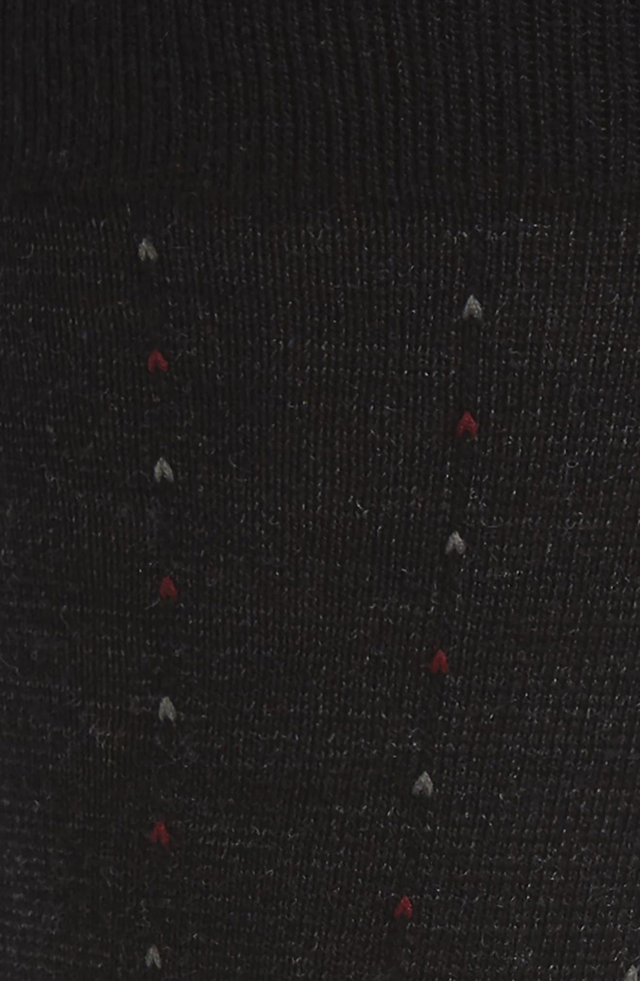 Feeder Pinstripe Socks,                             Alternate thumbnail 2, color,                             Black