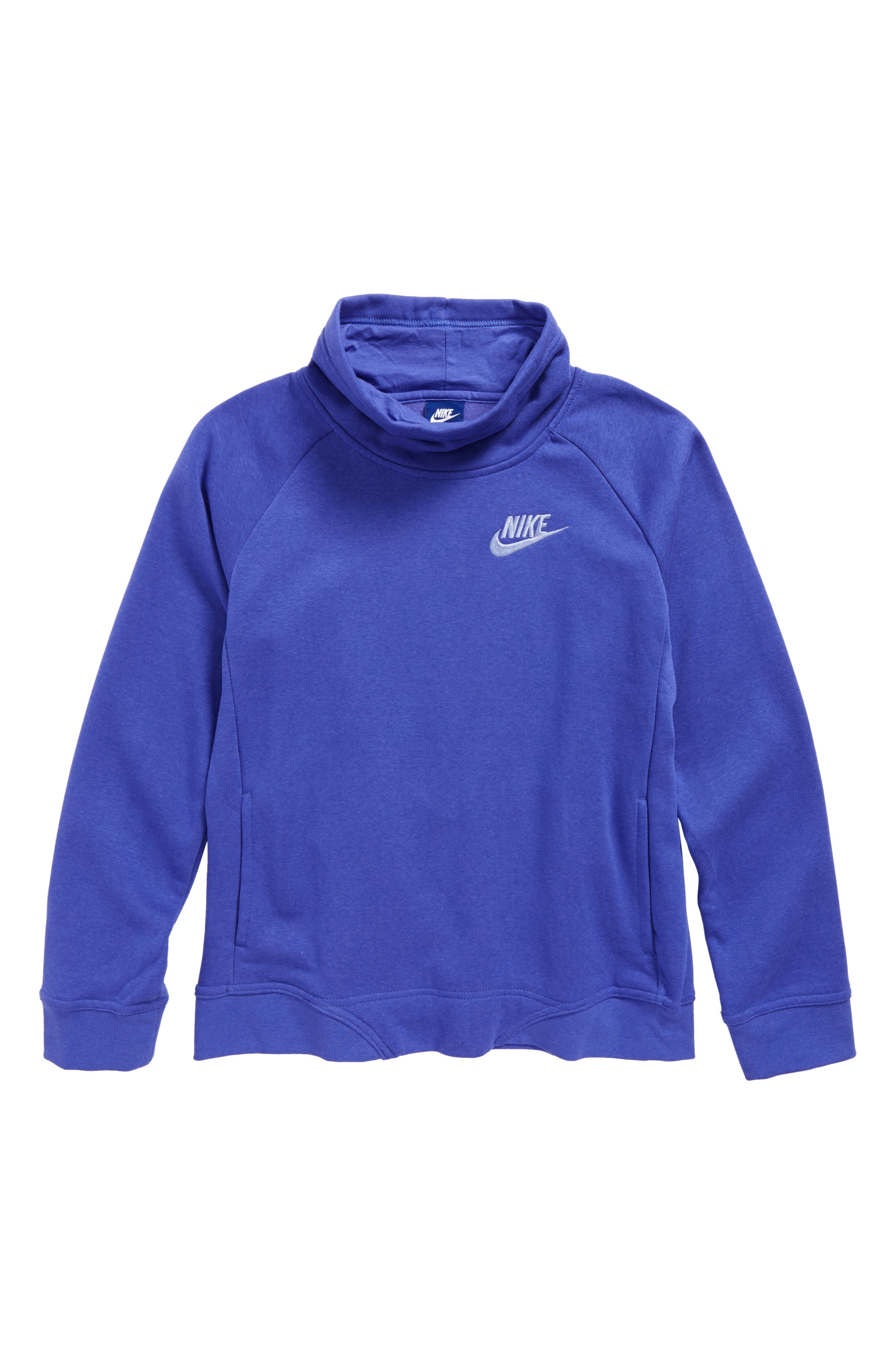 Long Sleeve Pullover,                         Main,                         color, Purple Comet/ Light Thistle
