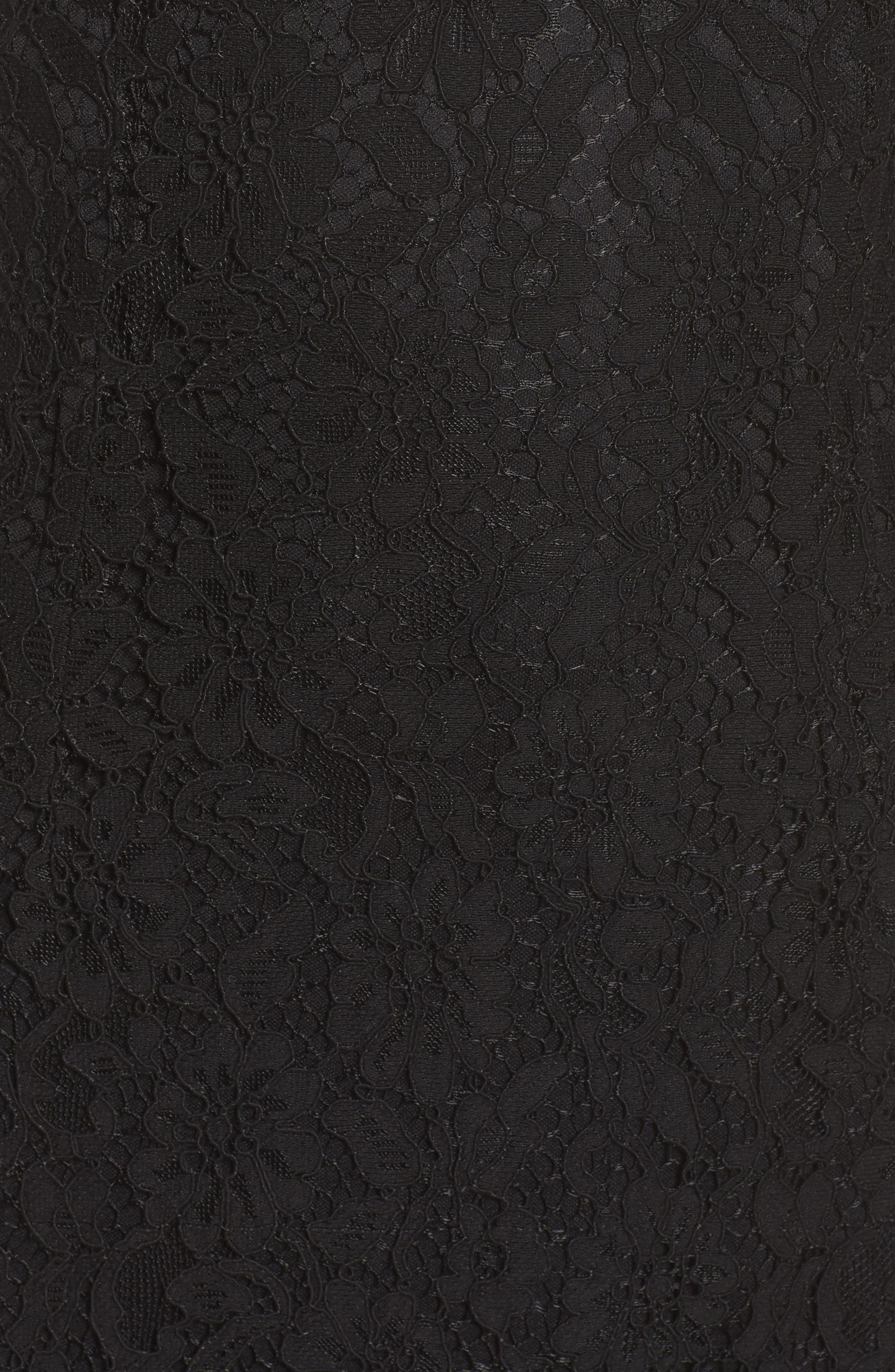 Alternate Image 5  - NSR Lace Off the Shoulder Midi Dress