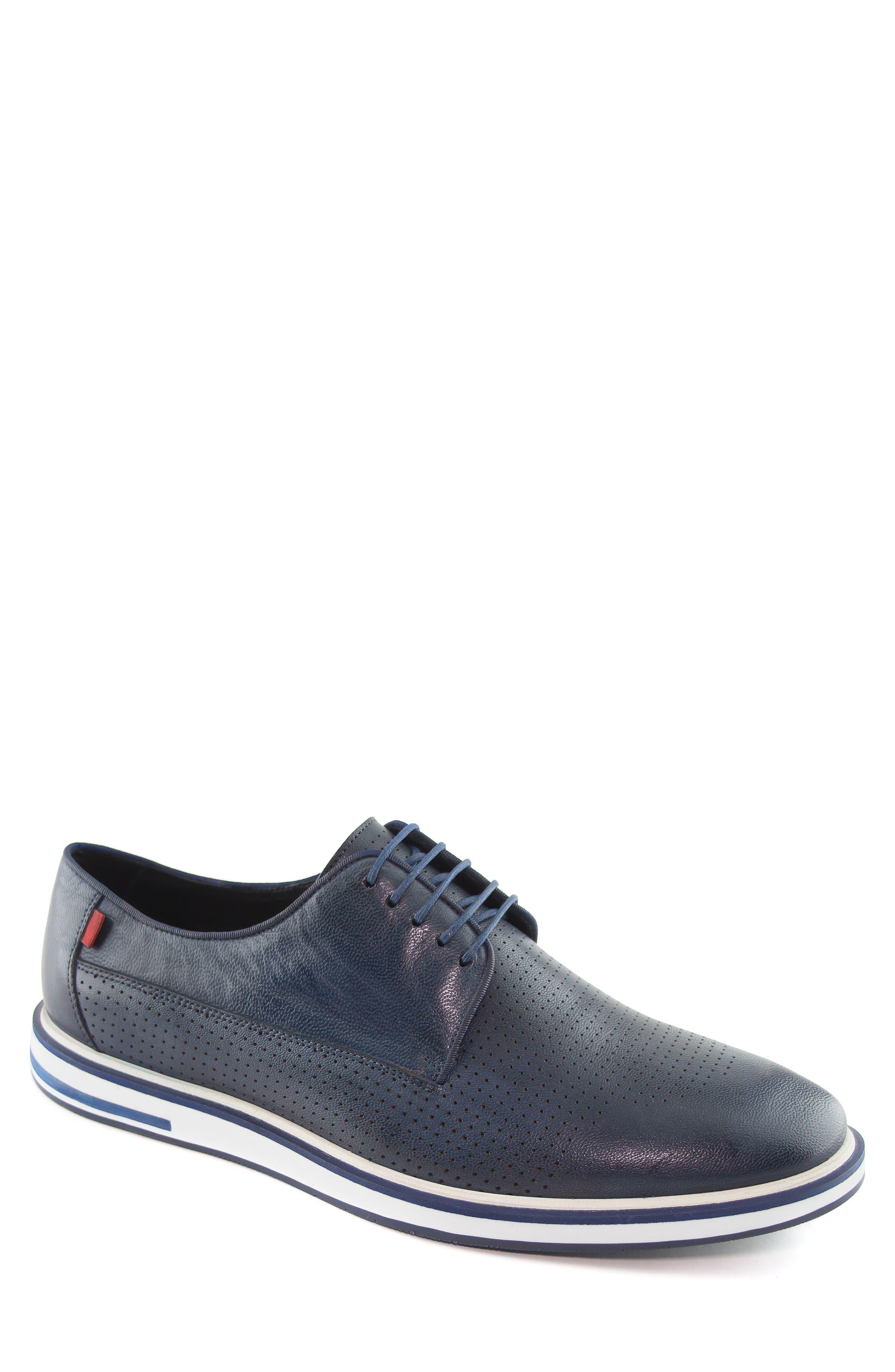 Manhattan Sneaker,                             Main thumbnail 1, color,                             Navy