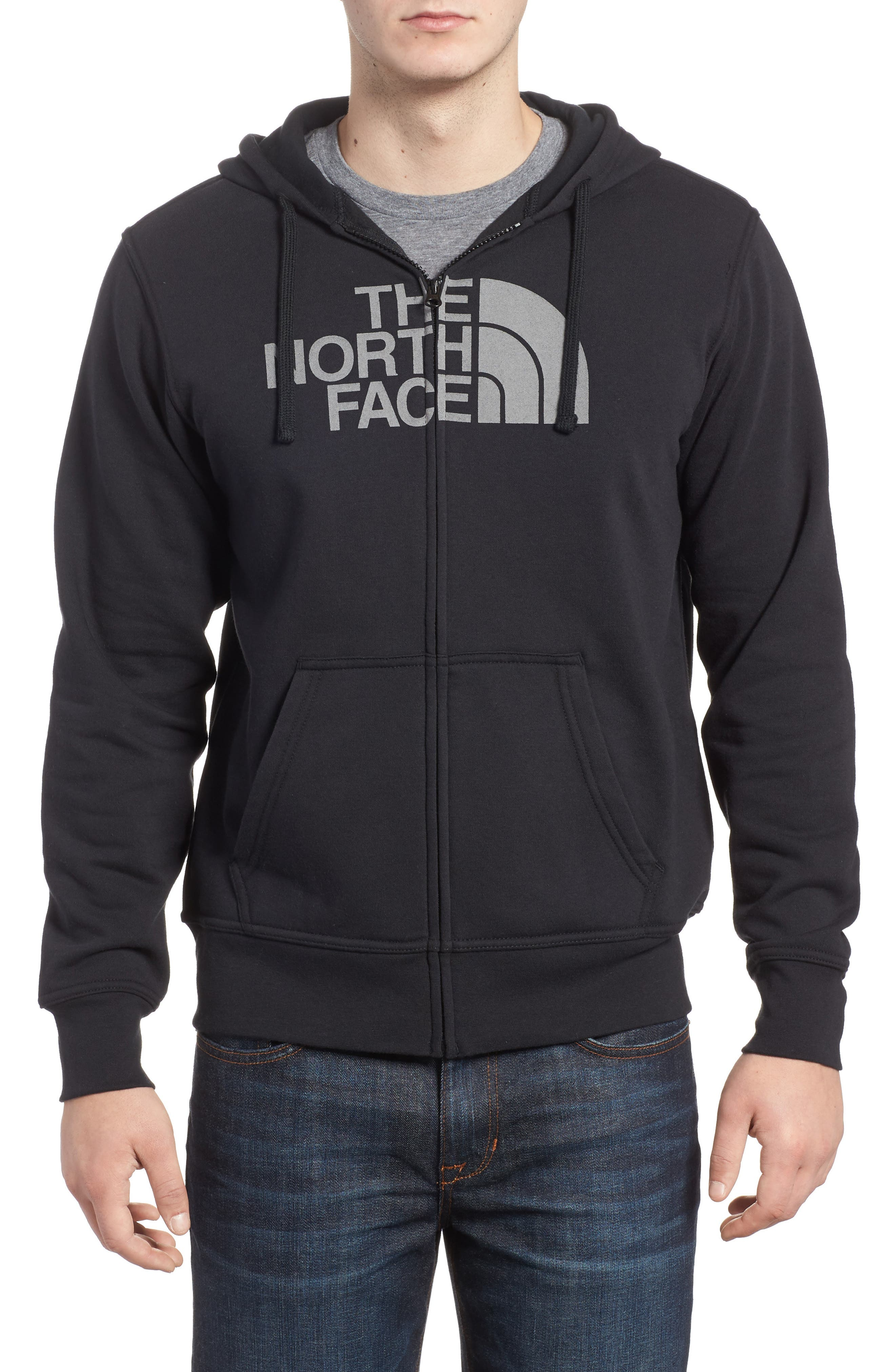 Alternate Image 1 Selected - The North Face Half Dome Cotton Blend Zip Hoodie