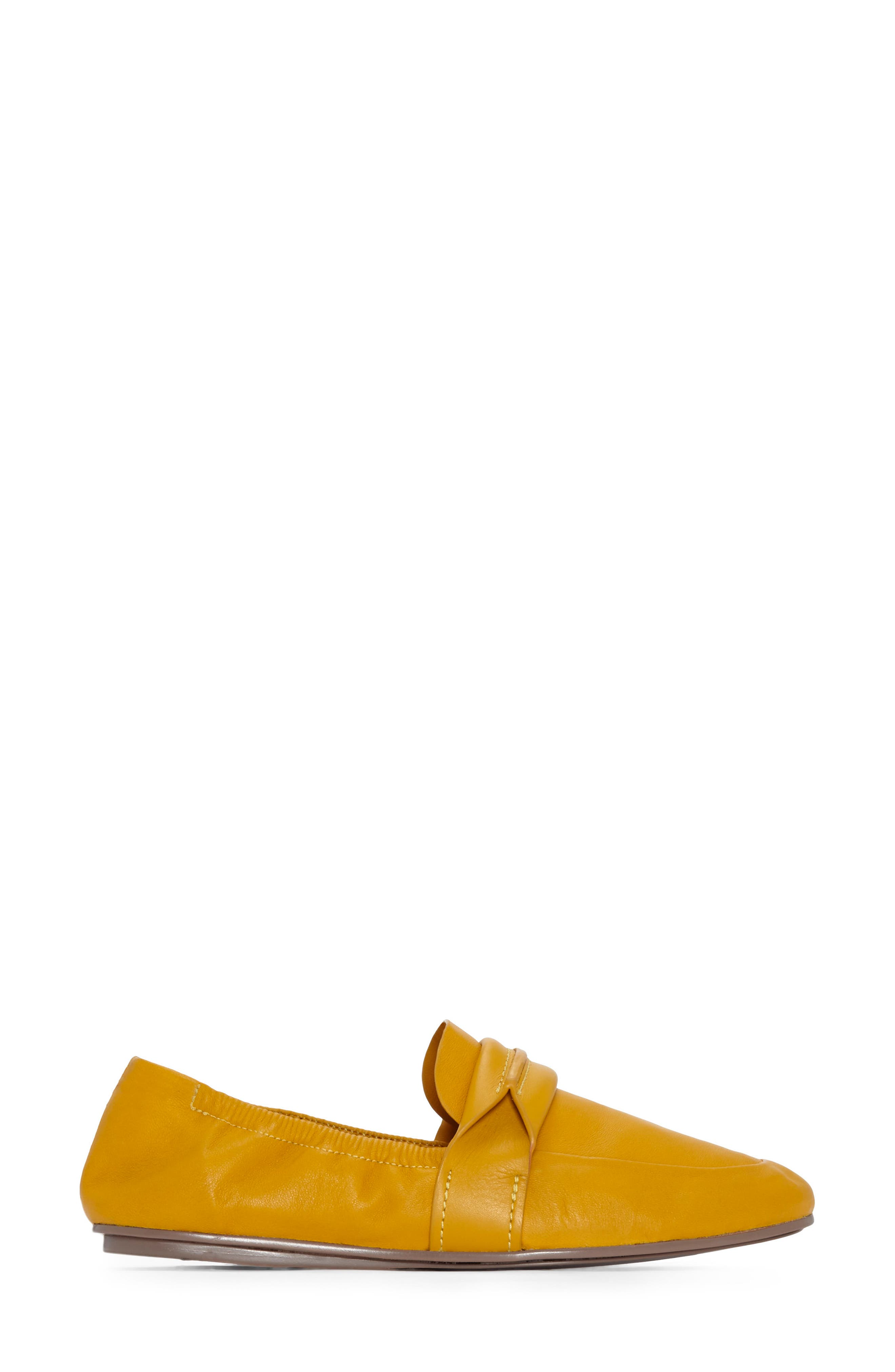 Erin Loafer Flat,                             Alternate thumbnail 2, color,                             Mustard