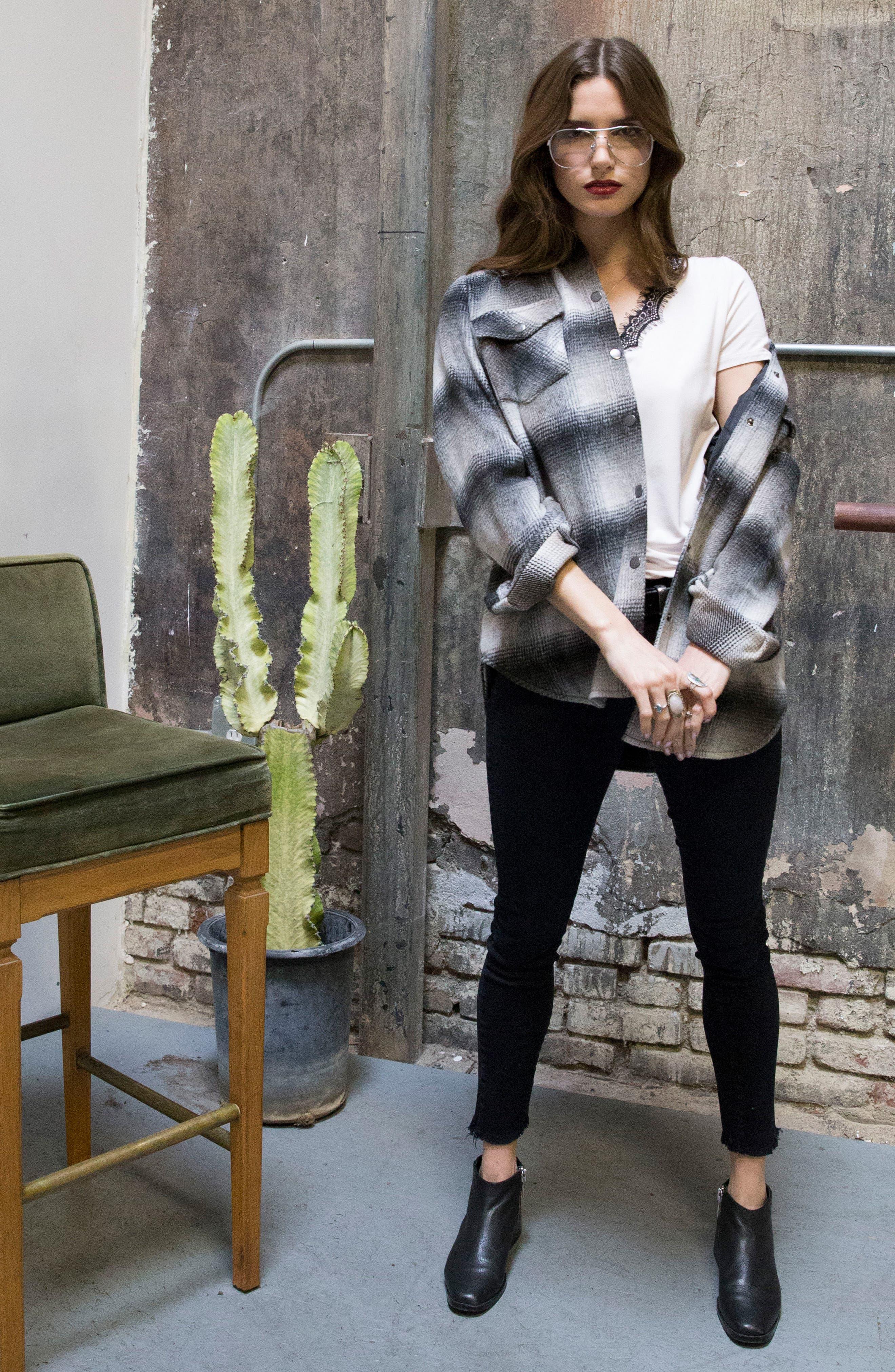Alternate Image 9  - Lira Clothing Keegan Plaid Jacket