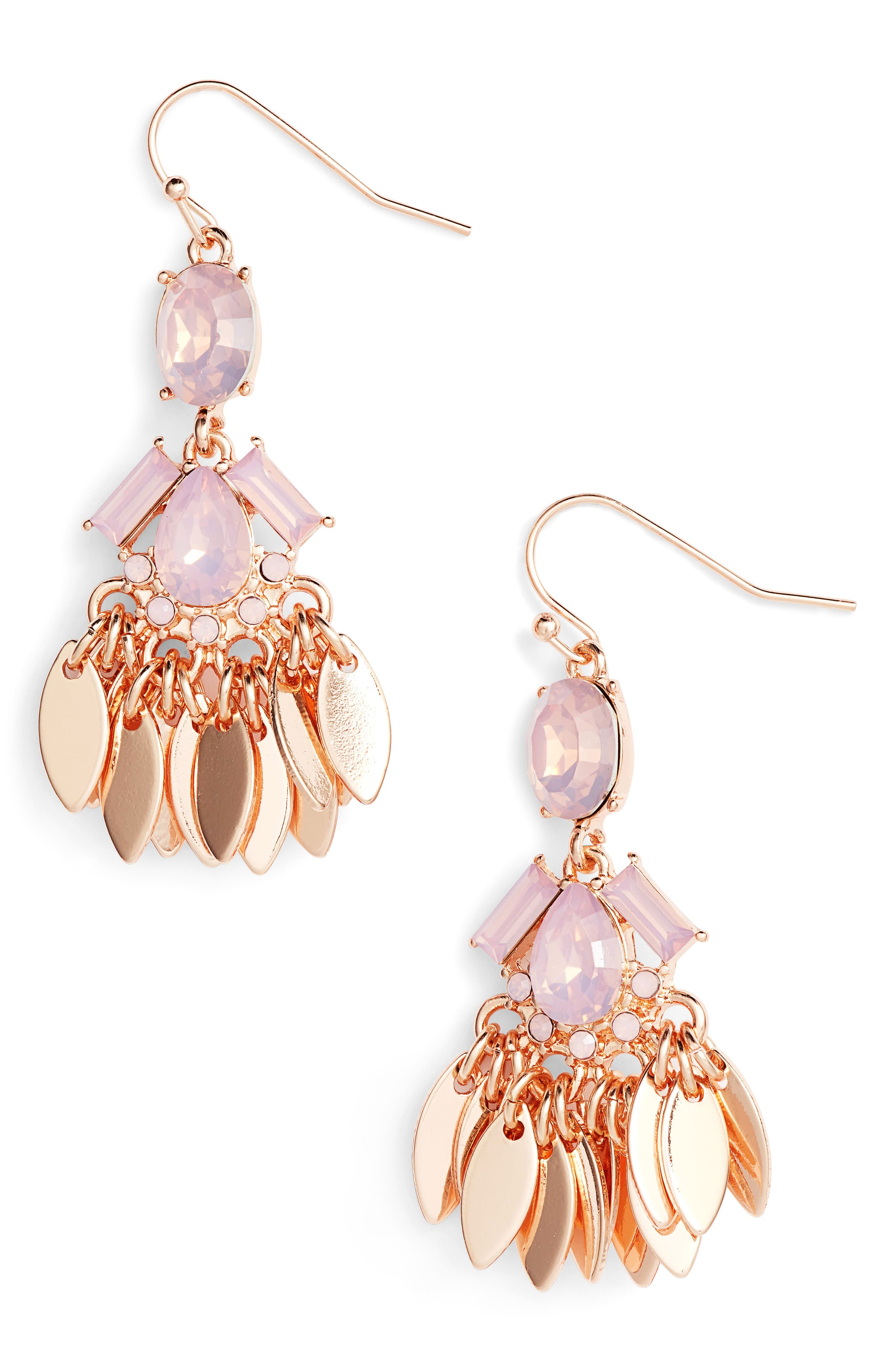 Womens chandelier earrings nordstrom arubaitofo Image collections