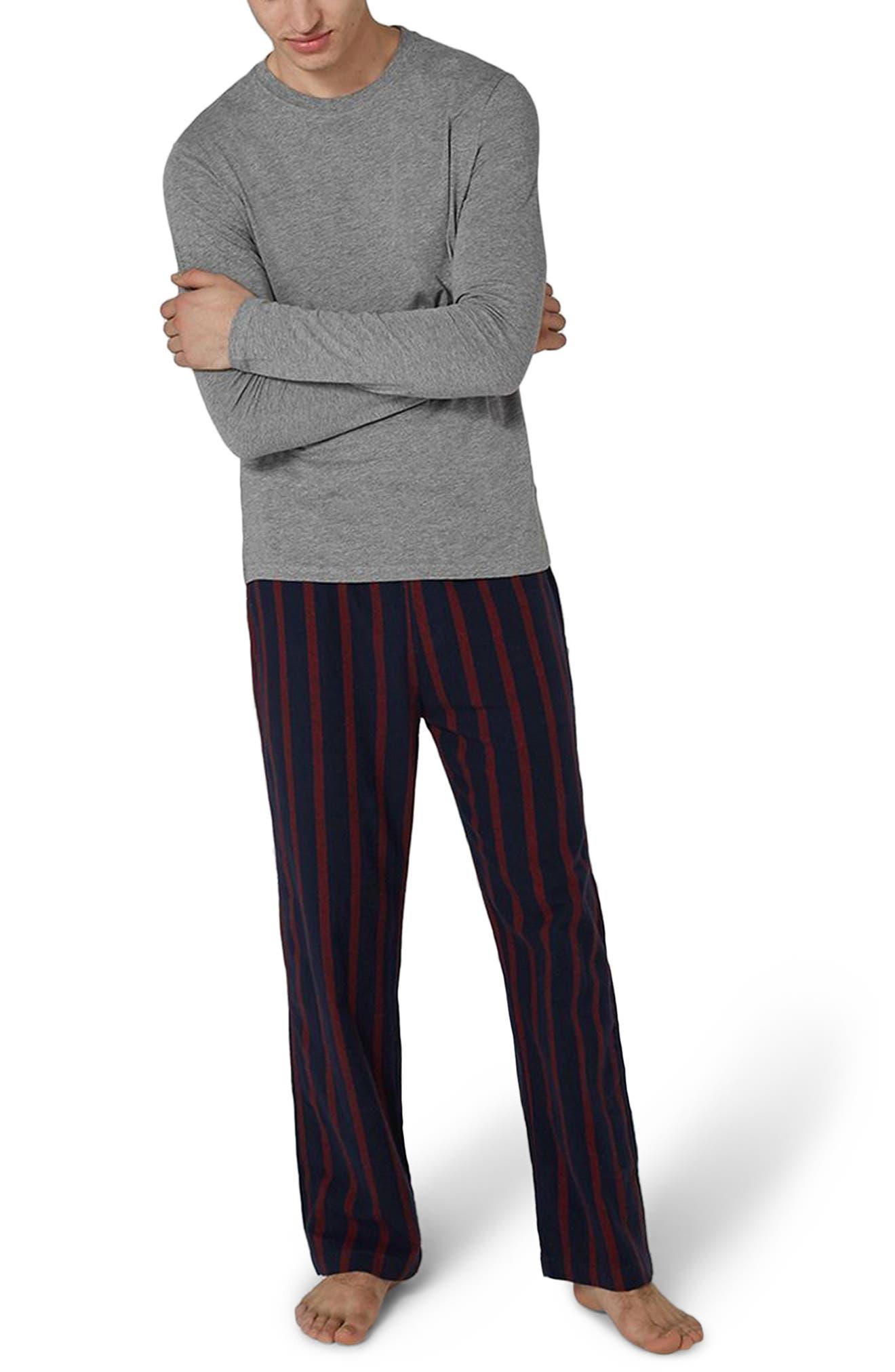 Topman Stripe Pajama Set