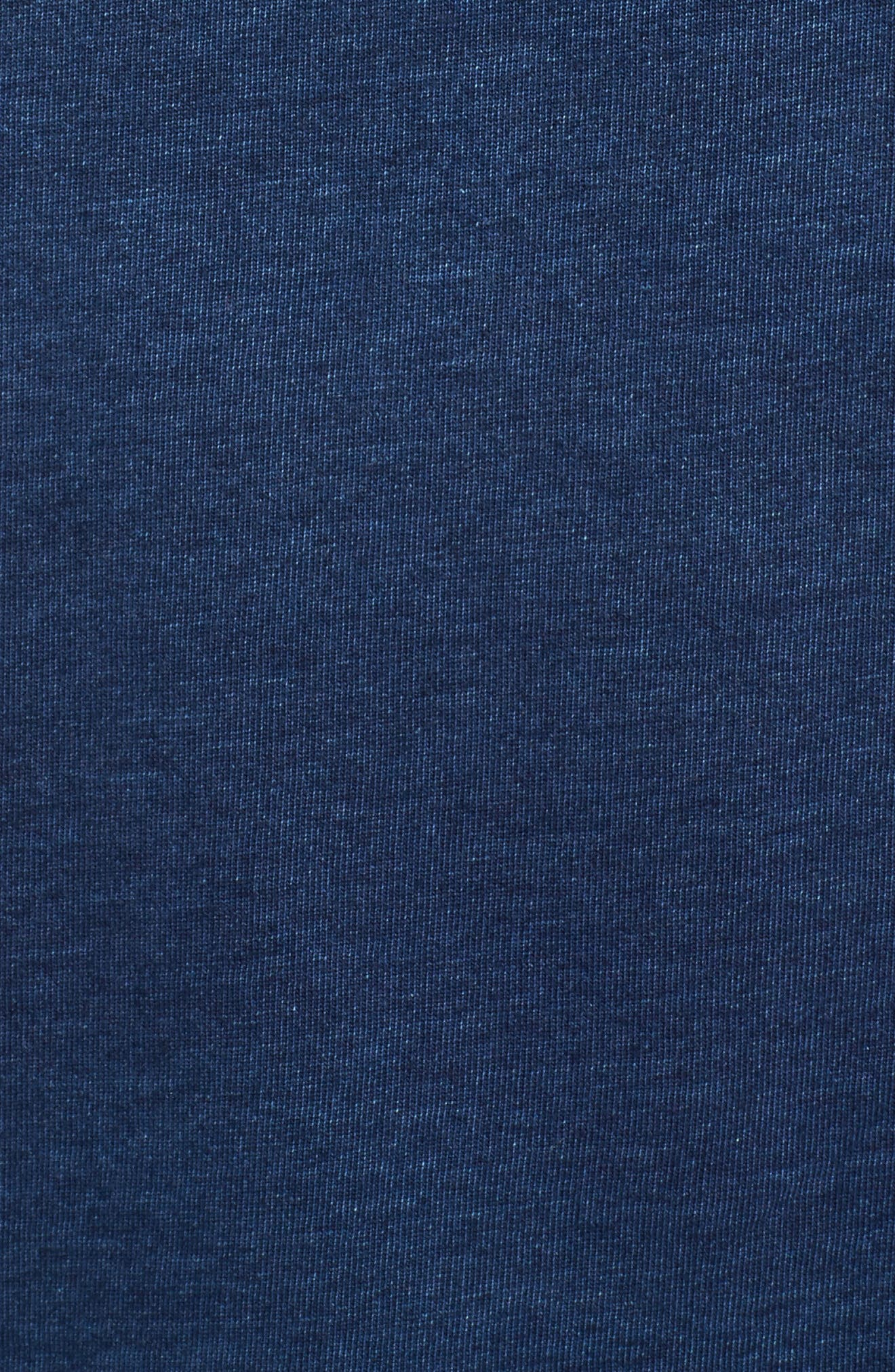 JV Graphic Tee,                             Alternate thumbnail 5, color,                             Indigo Sportswear Logo Indigo