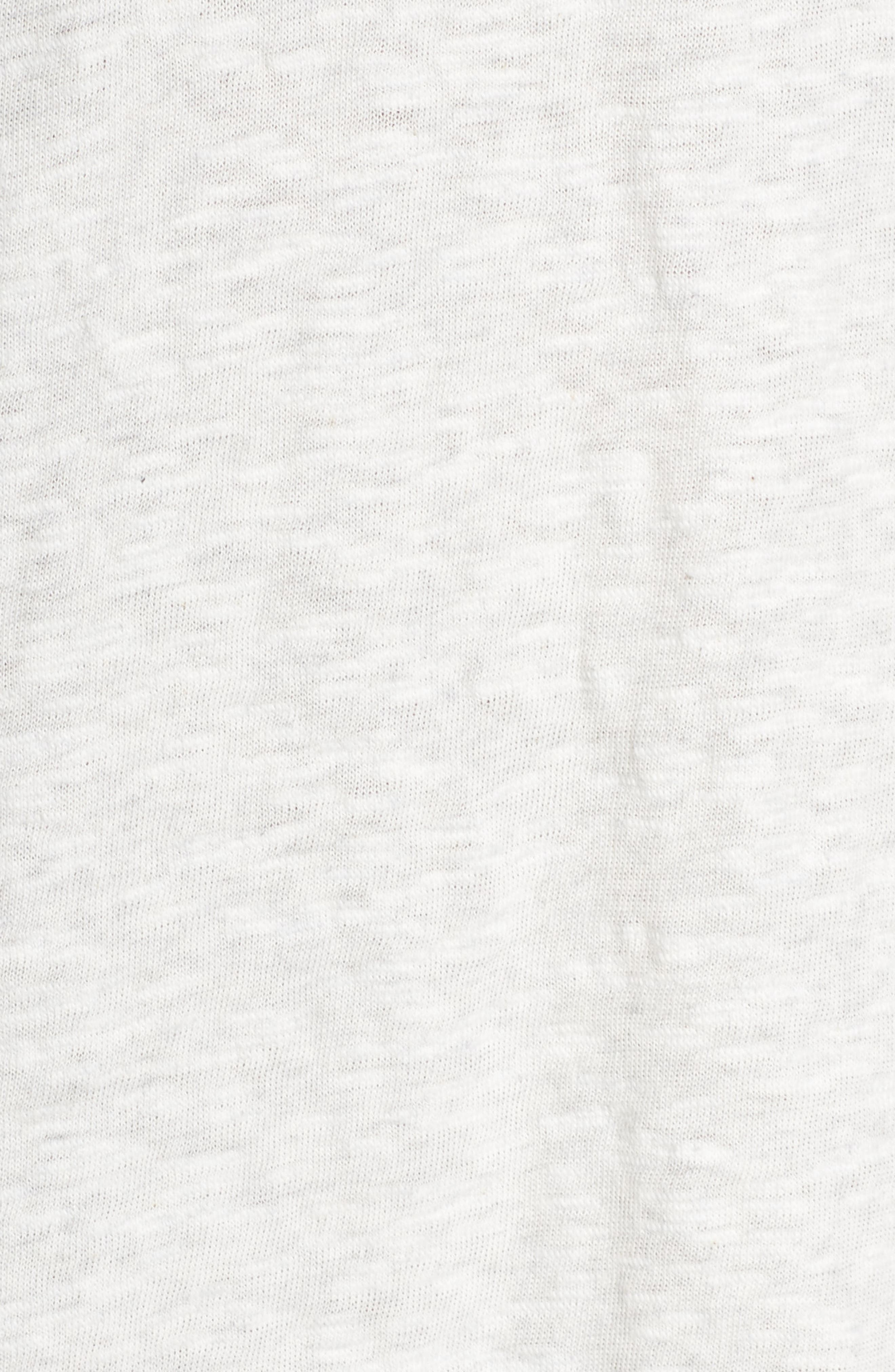 Hindi T-shirt dress,                             Alternate thumbnail 5, color,                             Cloud