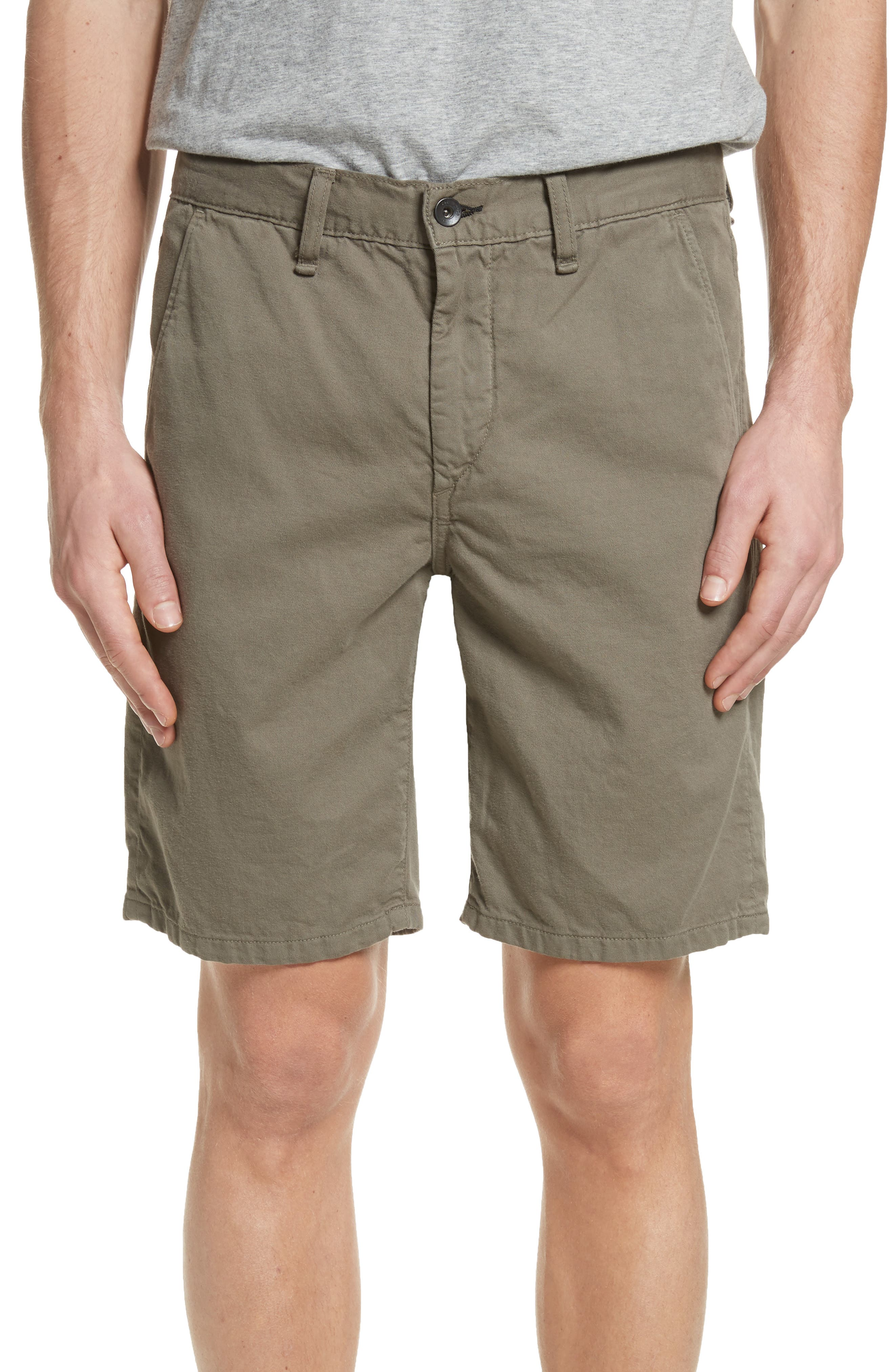 Standard Issue Shorts,                             Main thumbnail 1, color,                             Army