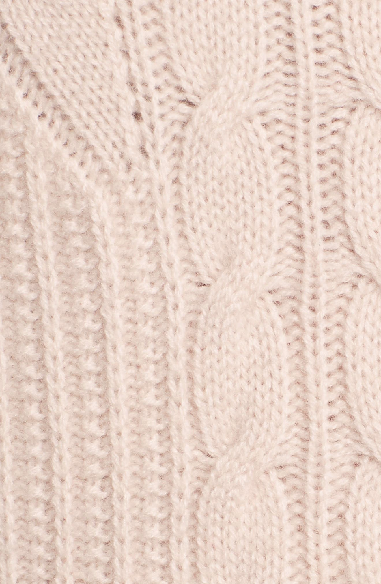 Alternate Image 5  - Emerson Rose Cashmere Cable Tunic Sweater