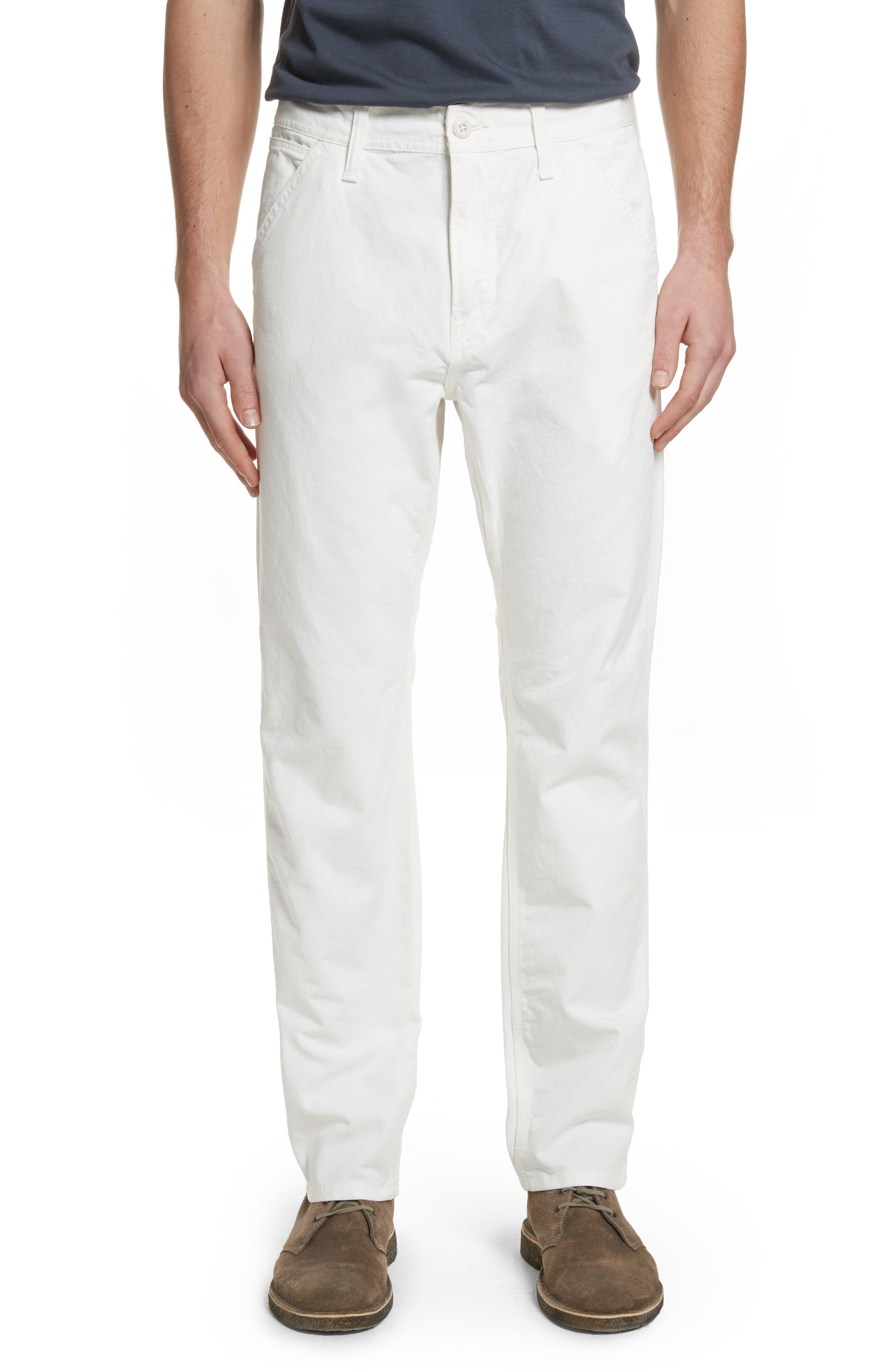 Chalk Pants,                             Main thumbnail 1, color,                             Off White