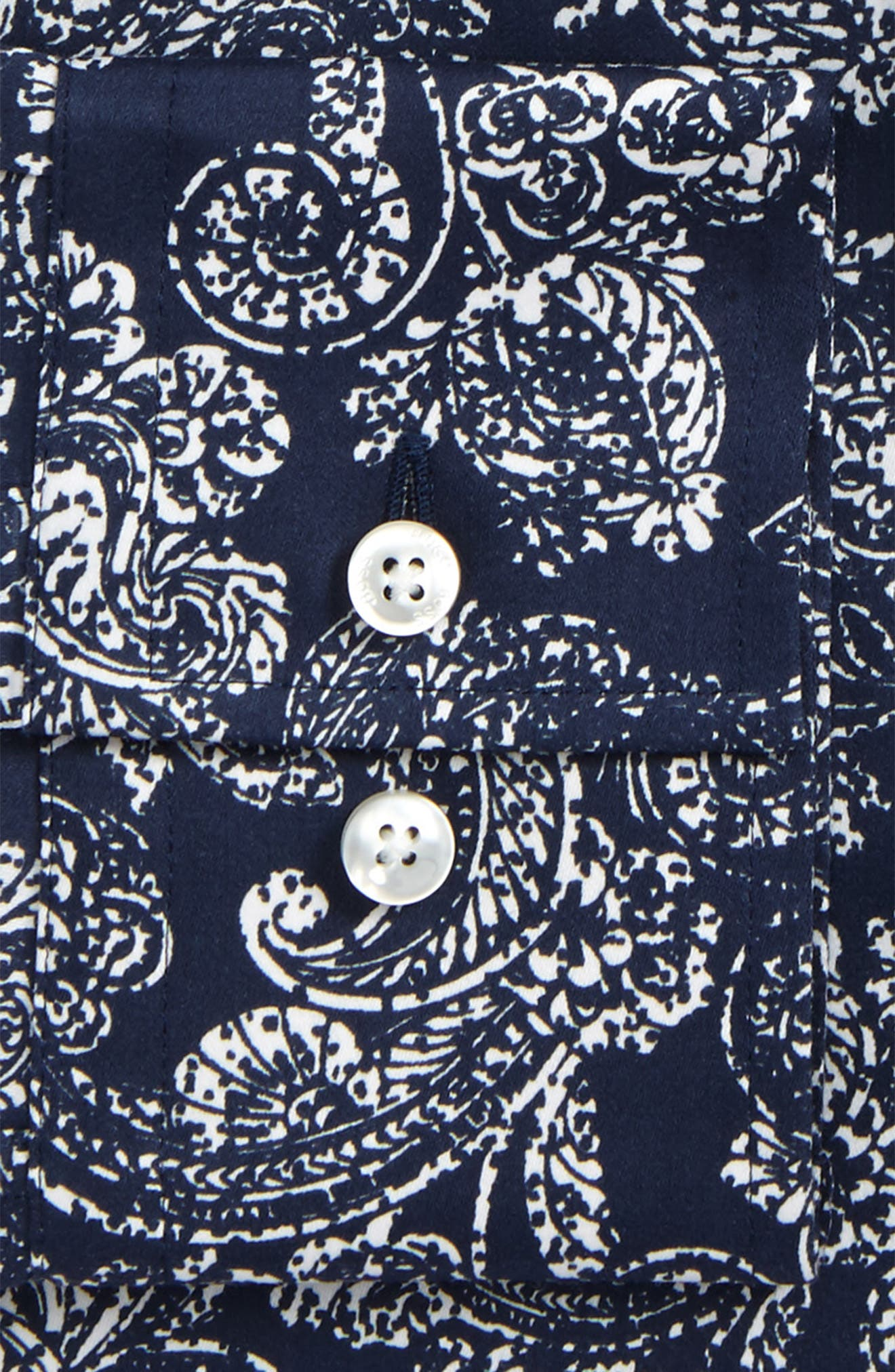Alternate Image 2  - BOSS Slim Fit Paisley Dress Shirt