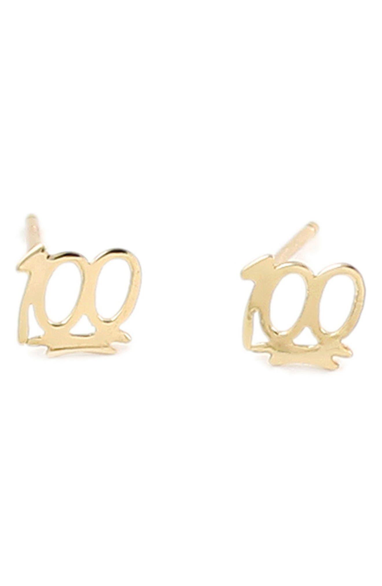 Main Image - Kris Nations 100 Stud Earrings