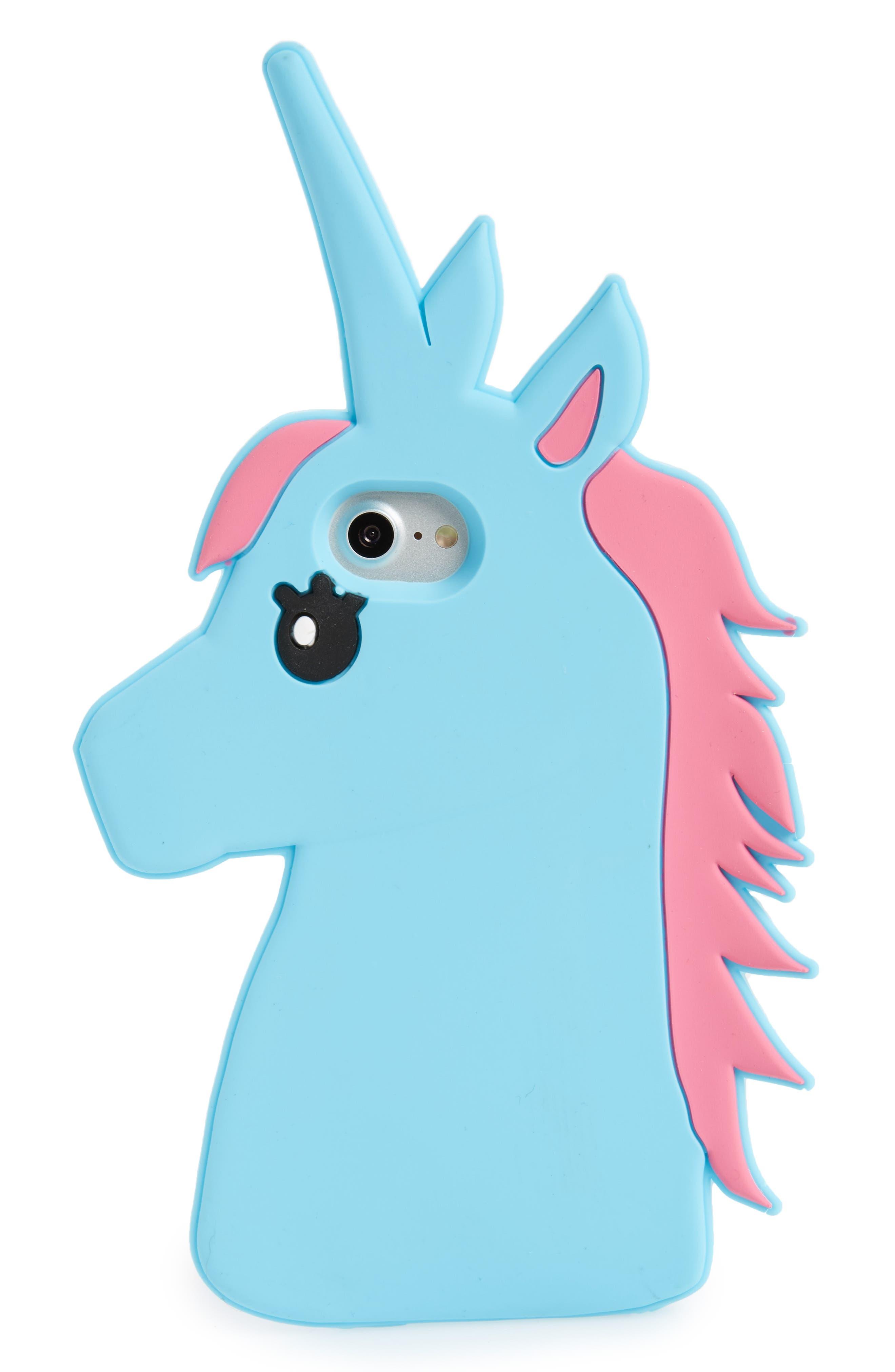 Alternate Image 1 Selected - BP. Unicorn iPhone 7/8 Case