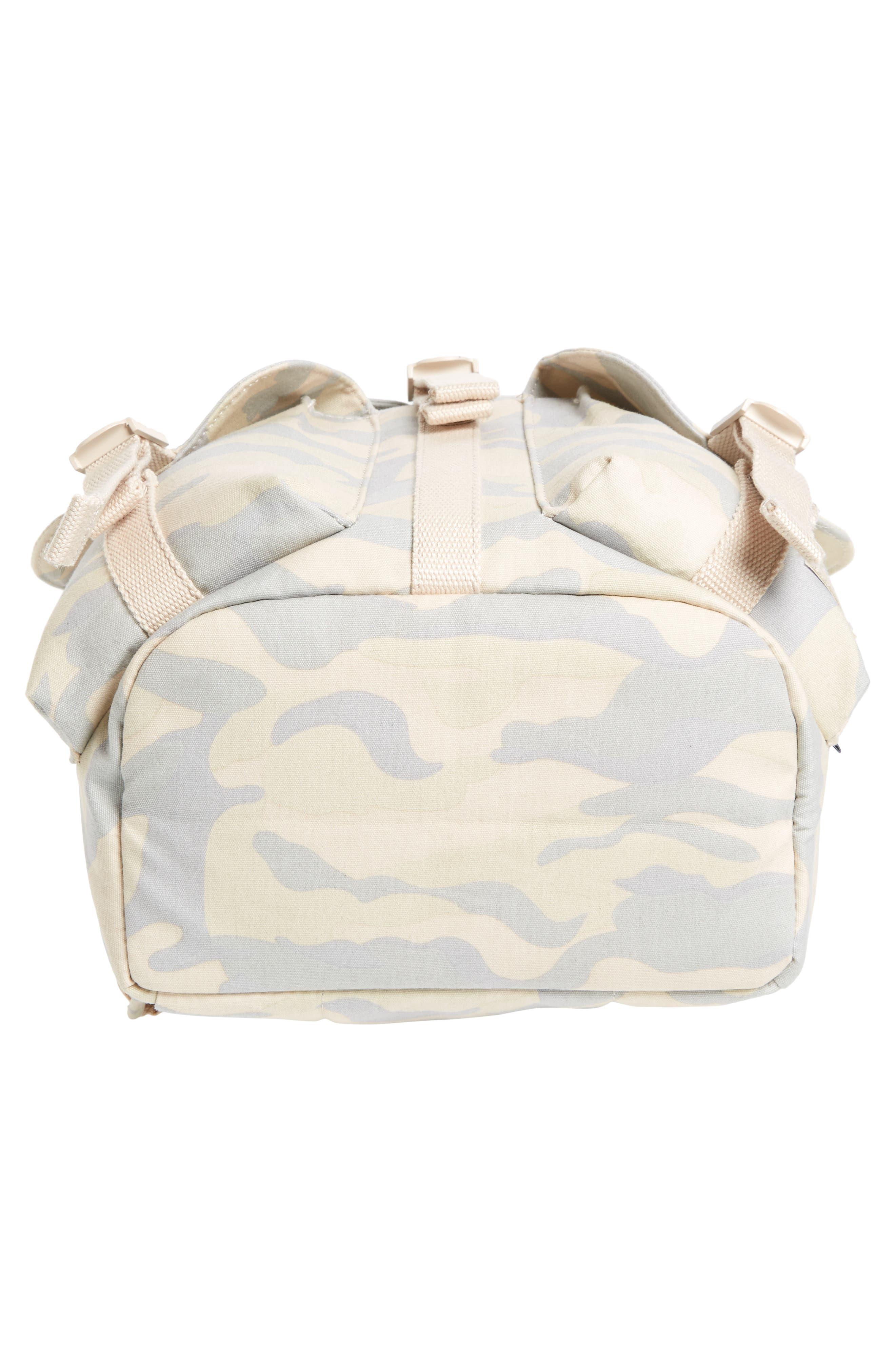 X-Small Dawson Camo Canvas Backpack,                             Alternate thumbnail 6, color,                             Washed Canvas Camo