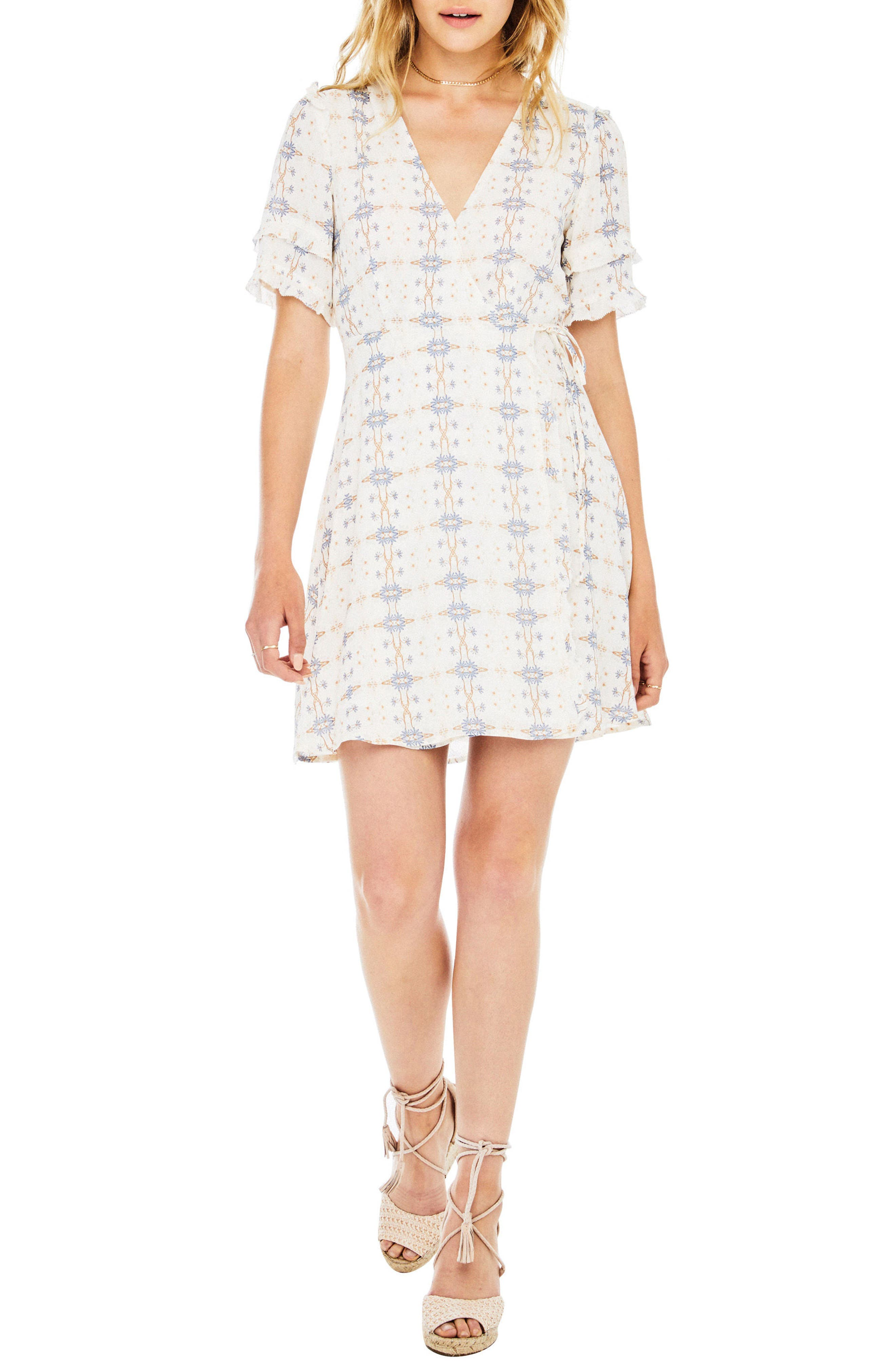 Alternate Image 1 Selected - ASTR the Label Willa Wrap Dress
