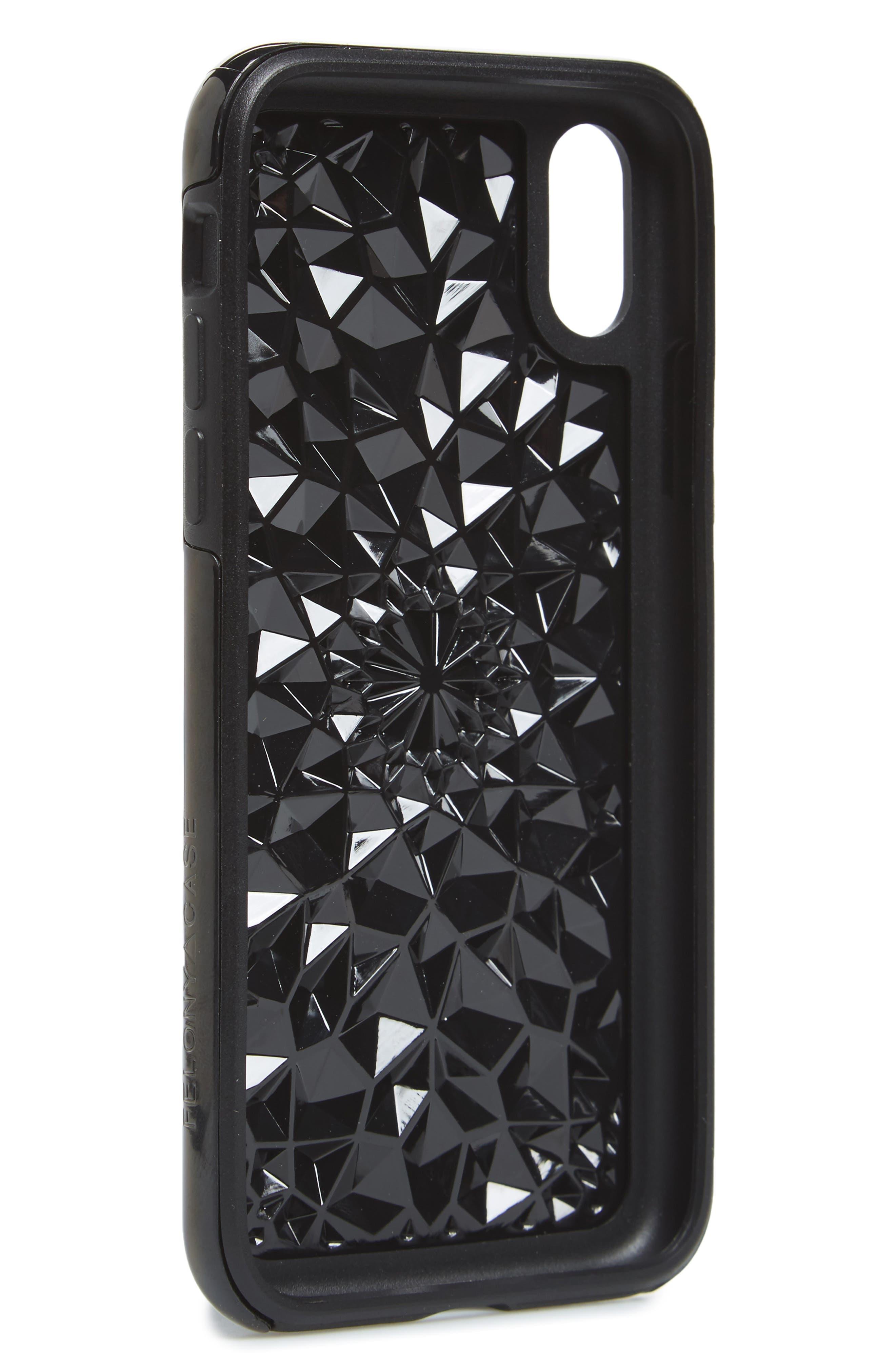 Cosmic Kaleidoscope iPhone X Case,                             Alternate thumbnail 2, color,                             Multi