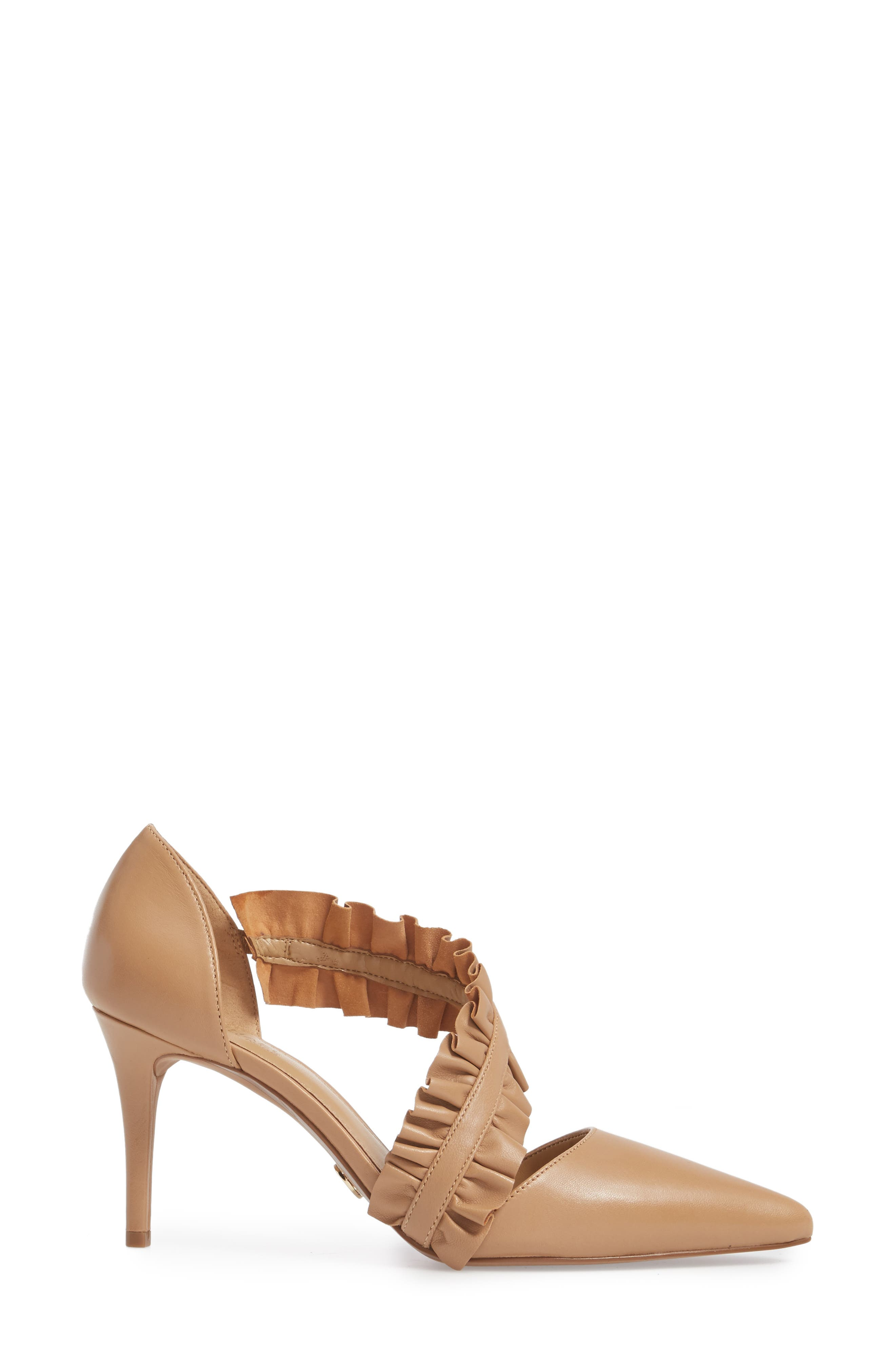 Alternate Image 3  - MICHAEL Michael Kors Bella Ruffle Pump (Women)
