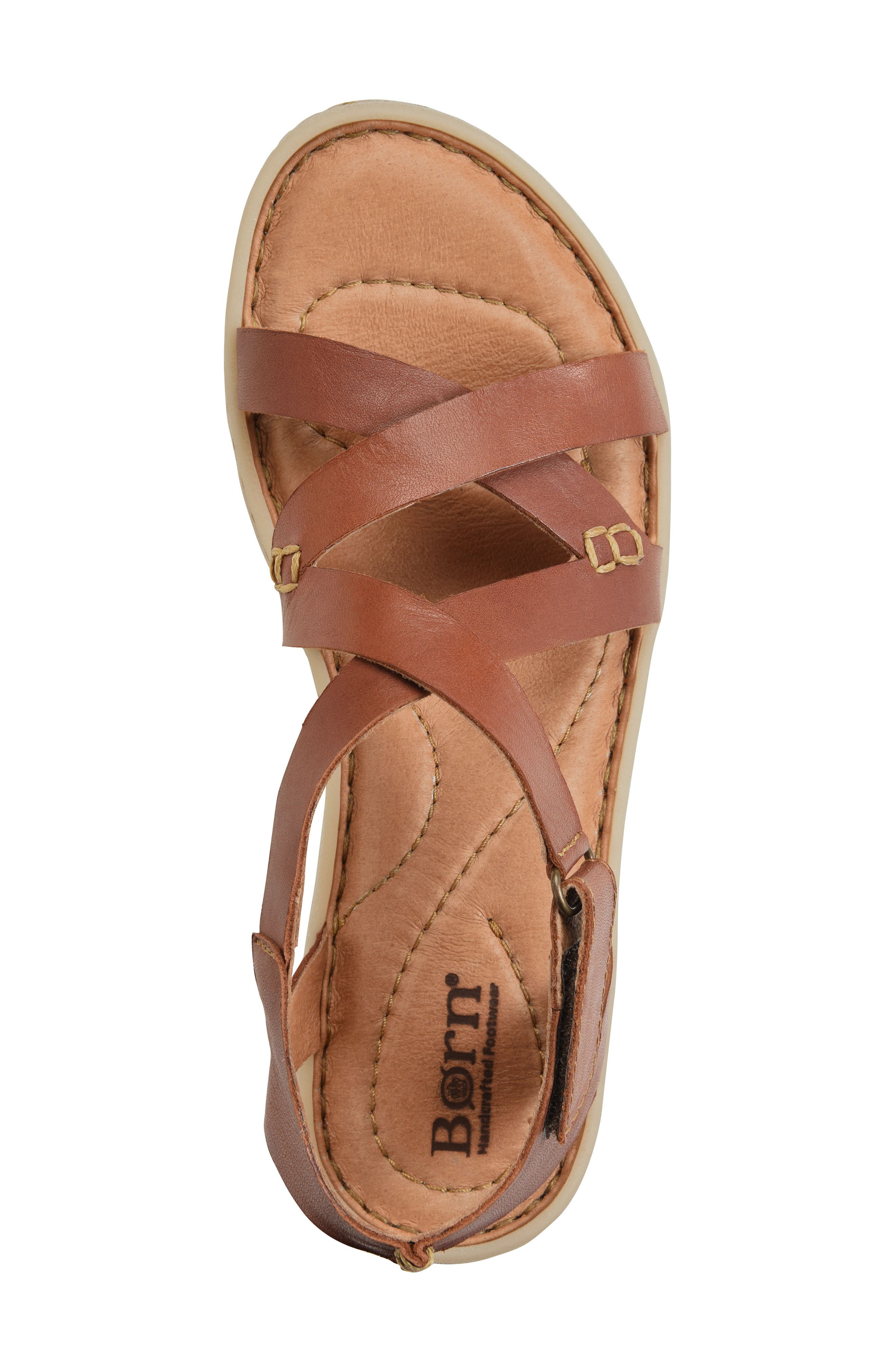 Trinidad Sandal,                             Alternate thumbnail 5, color,                             Brown Leather