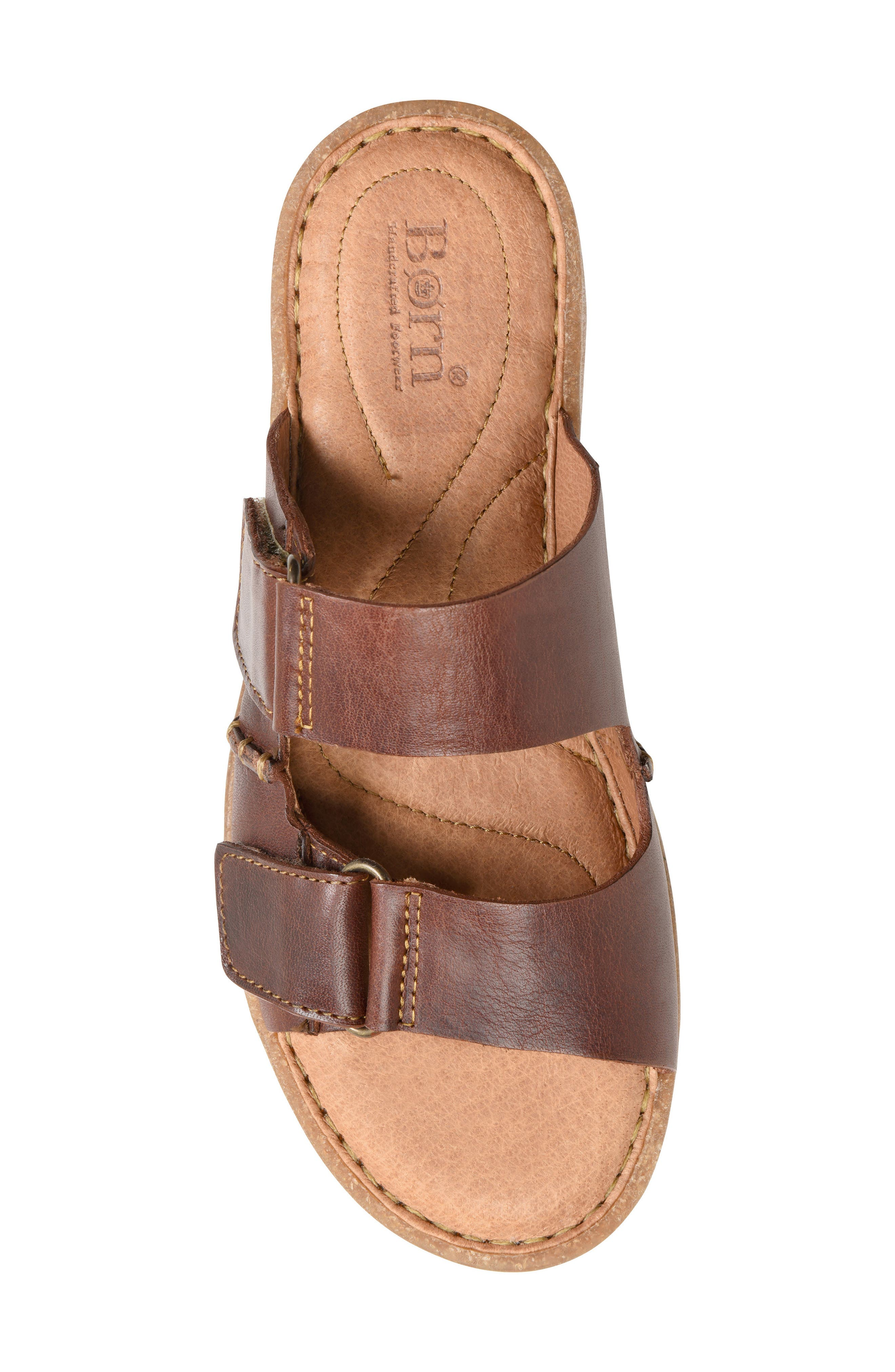 Dominica Sandal,                             Alternate thumbnail 5, color,                             Rust Leather